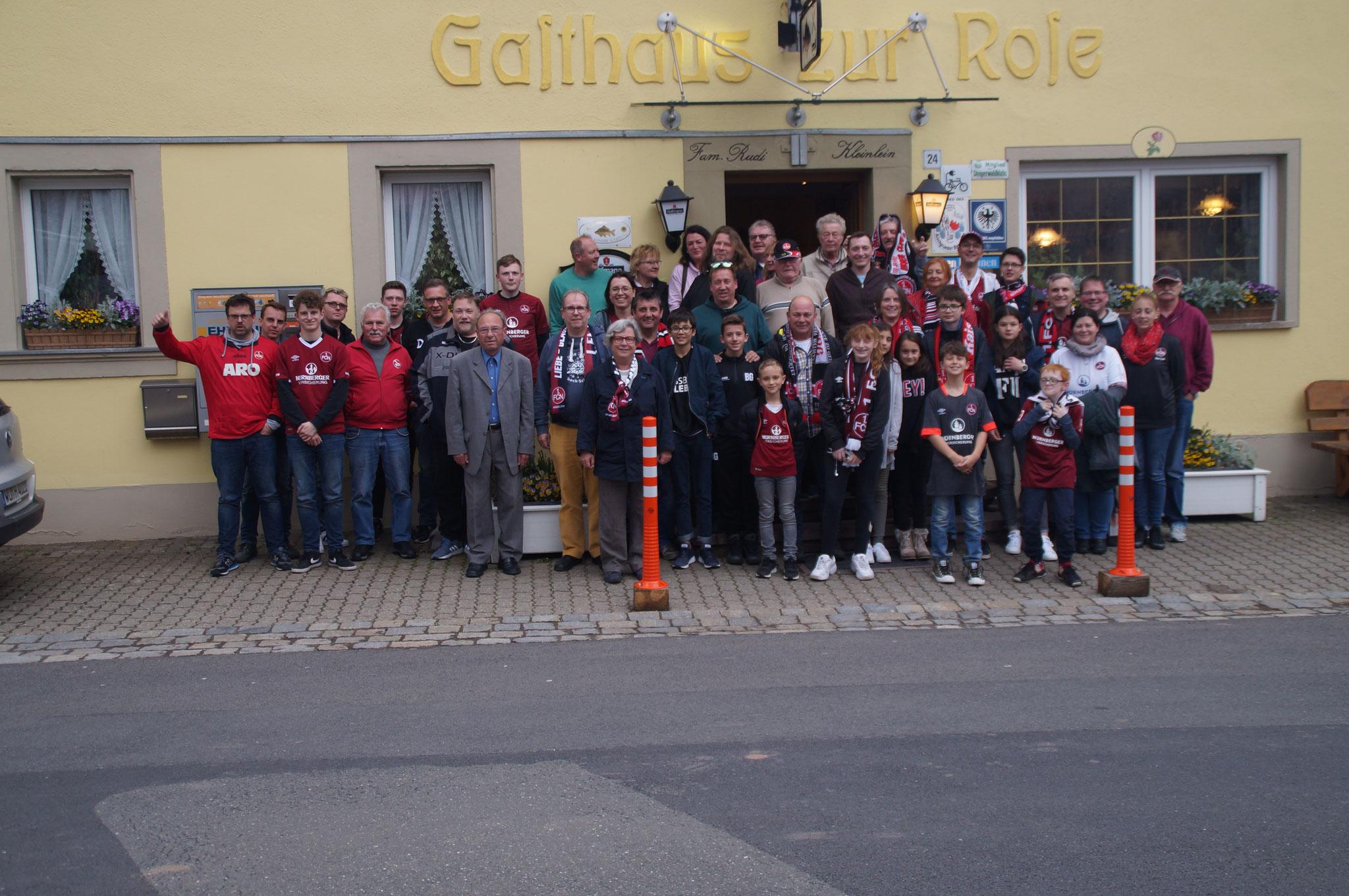 Busfahrt zum letzten Bundesligaspiel 2018/19  FCN - Gladbach Endstand: 0:4