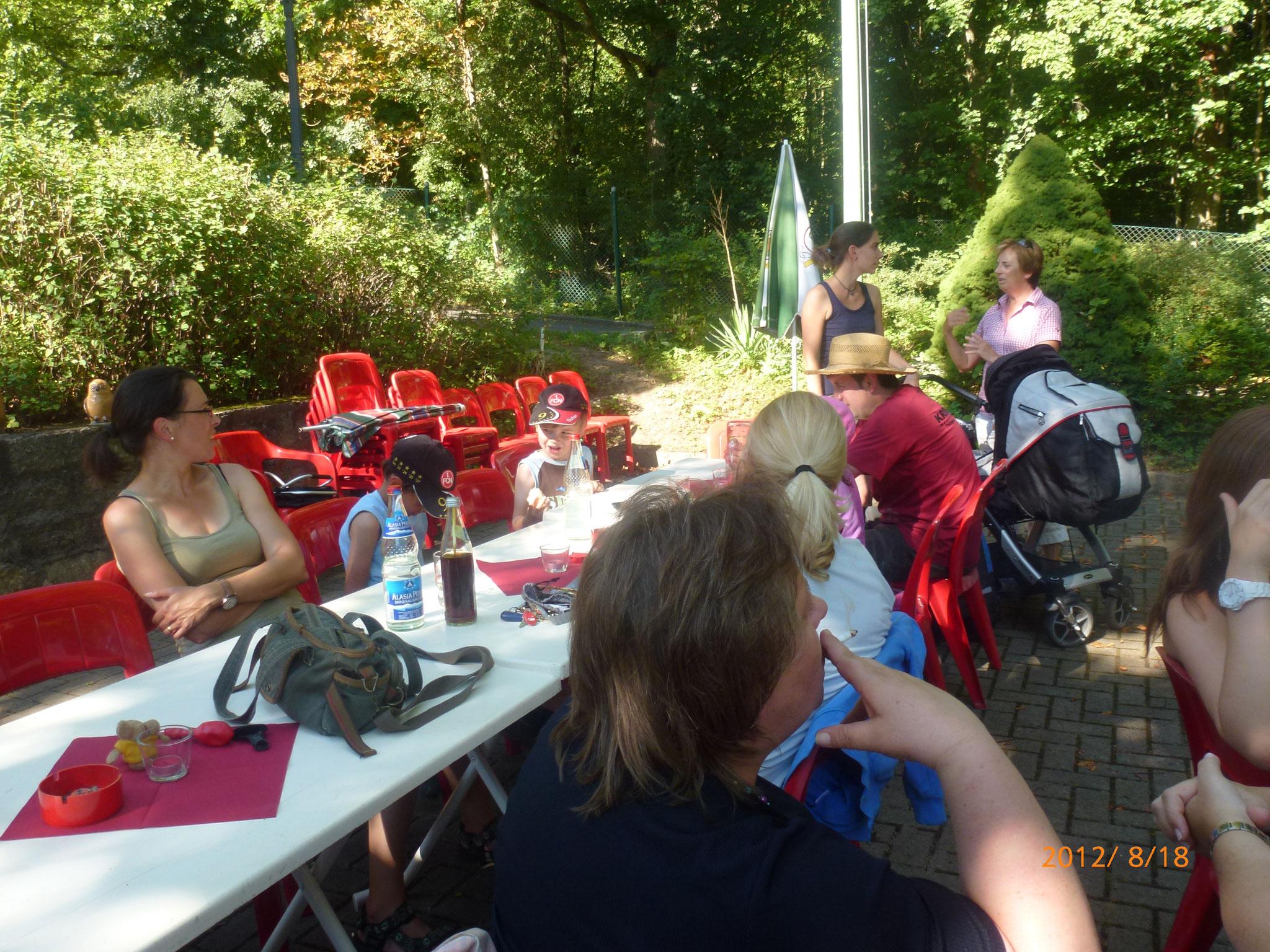 Sommerfest am Naturfreundehaus am 18.08.2012