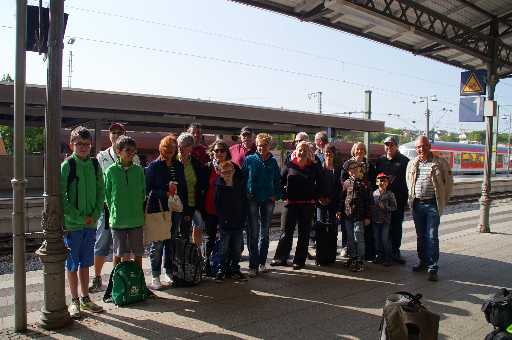 Familienausflug vom 05.-06.05.18 nach Sandhausen. Die Übernachtung war in Heidelberg.
