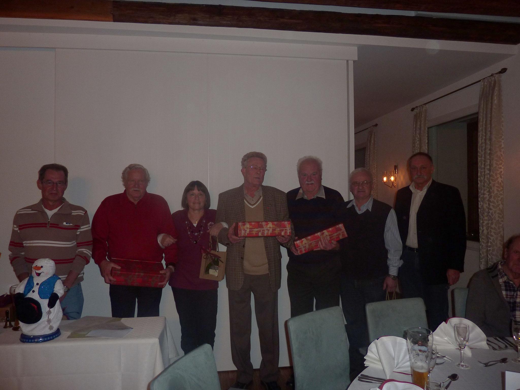 Jahresabschlussfeier am 03.12.2011