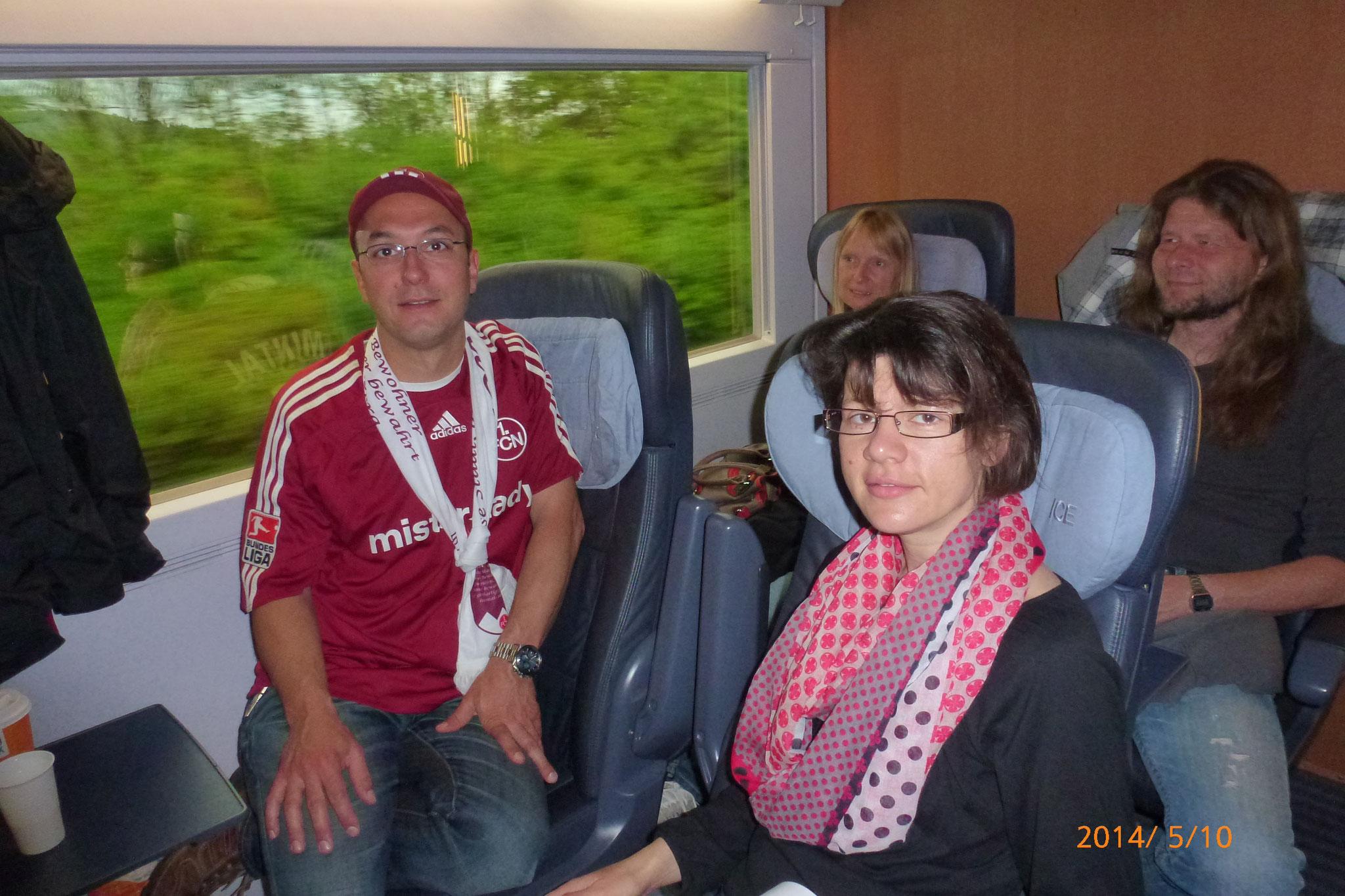 Familienausflug nach Schalke vom 10.05. -11.05.2014