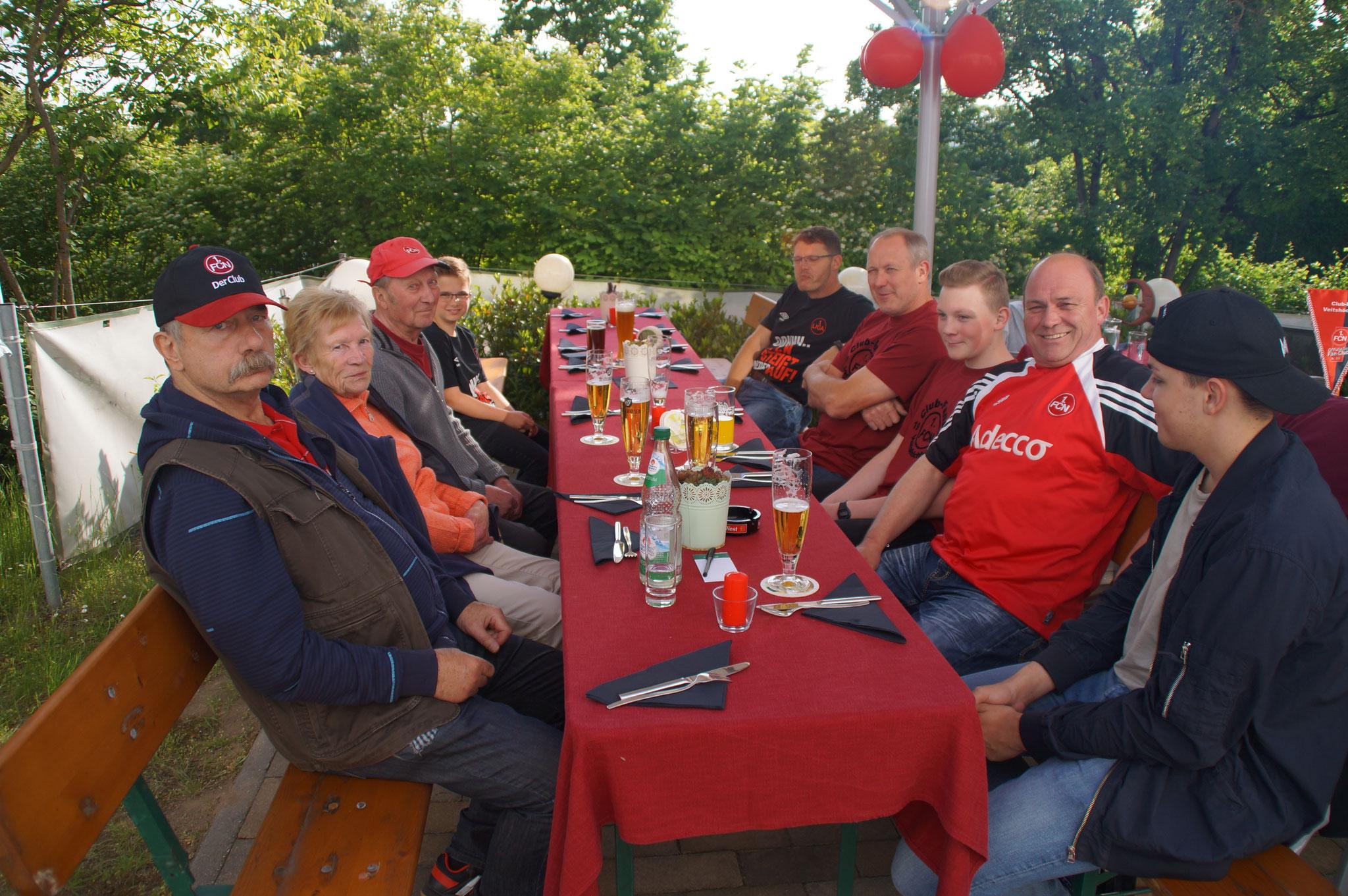 Aufstiegsfeier am 18.05.18 in Roten Punkt