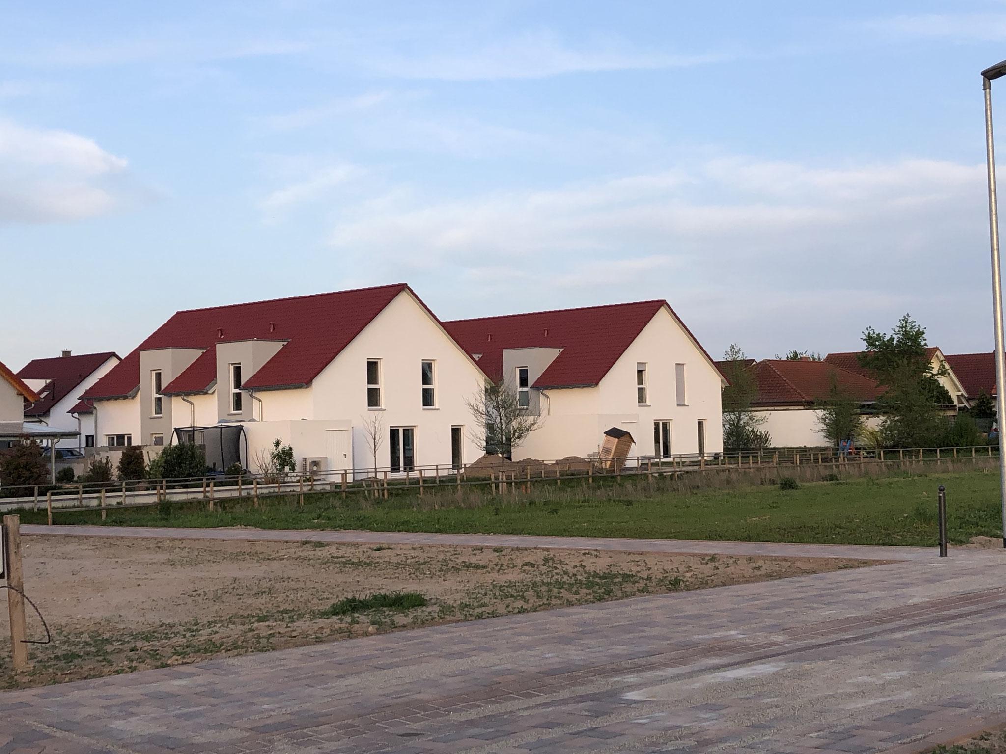 Doppelhäuser in Hördt 2019