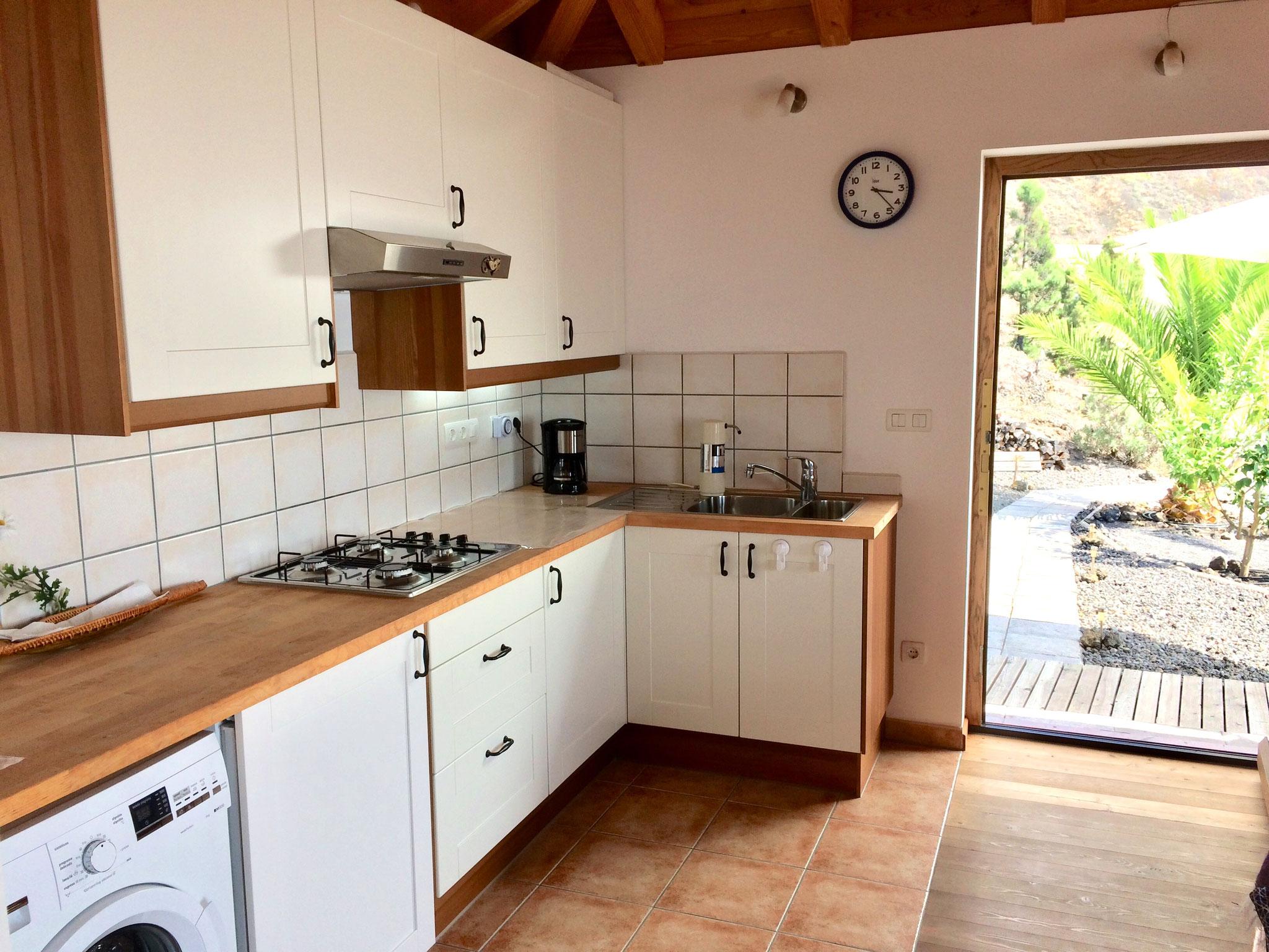 Casa Mirador - Küche - Salón - Las Indias - La Palma