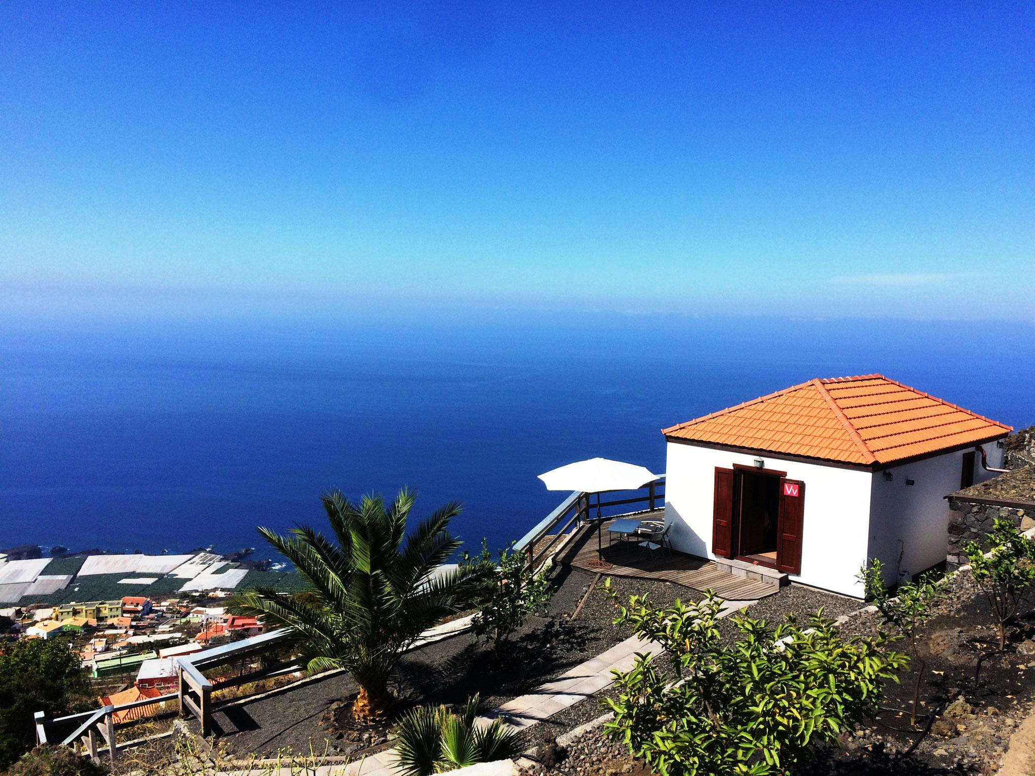 Casa Mirador - Hausansicht von Süden - Las Indias - La Palma