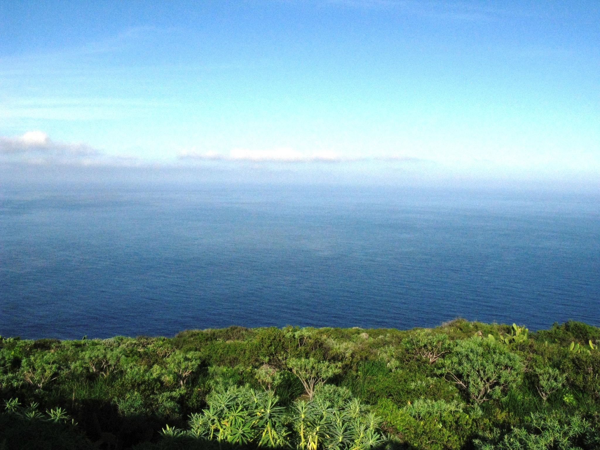 La Palma Kanarische Inseln Nord-Osten Meerblick