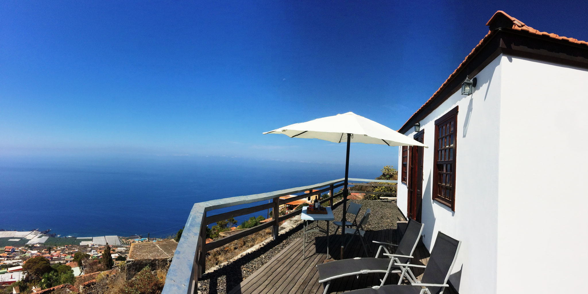 Casa Mirador - Terrassenaussicht - Las Indias - La Palma