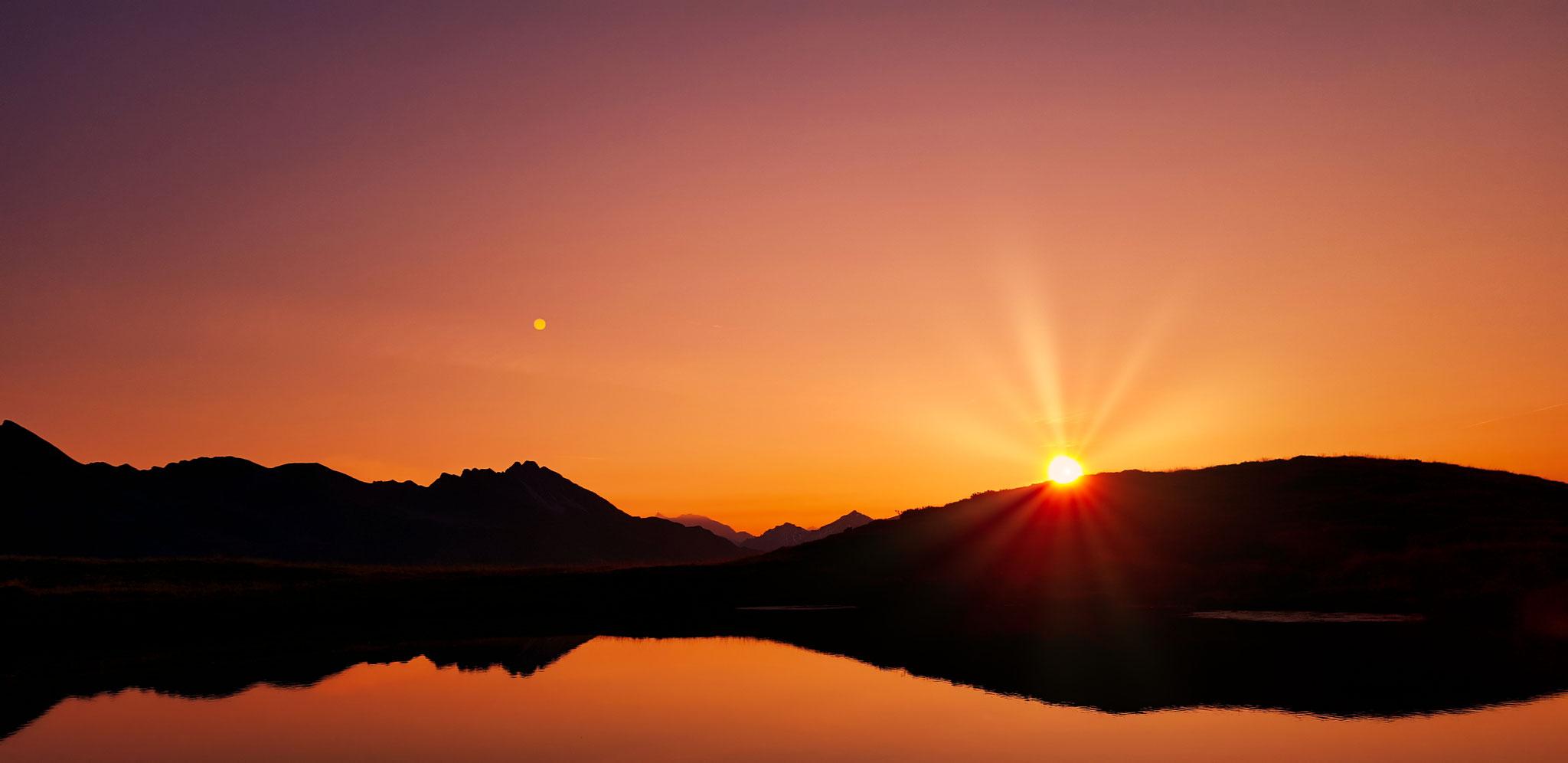 Sonnenaufgang Fuchssee - Rindnauntal