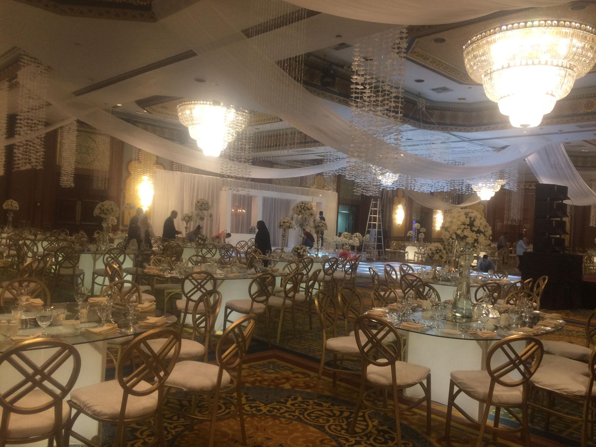 Hochzeitssaal im Marriott