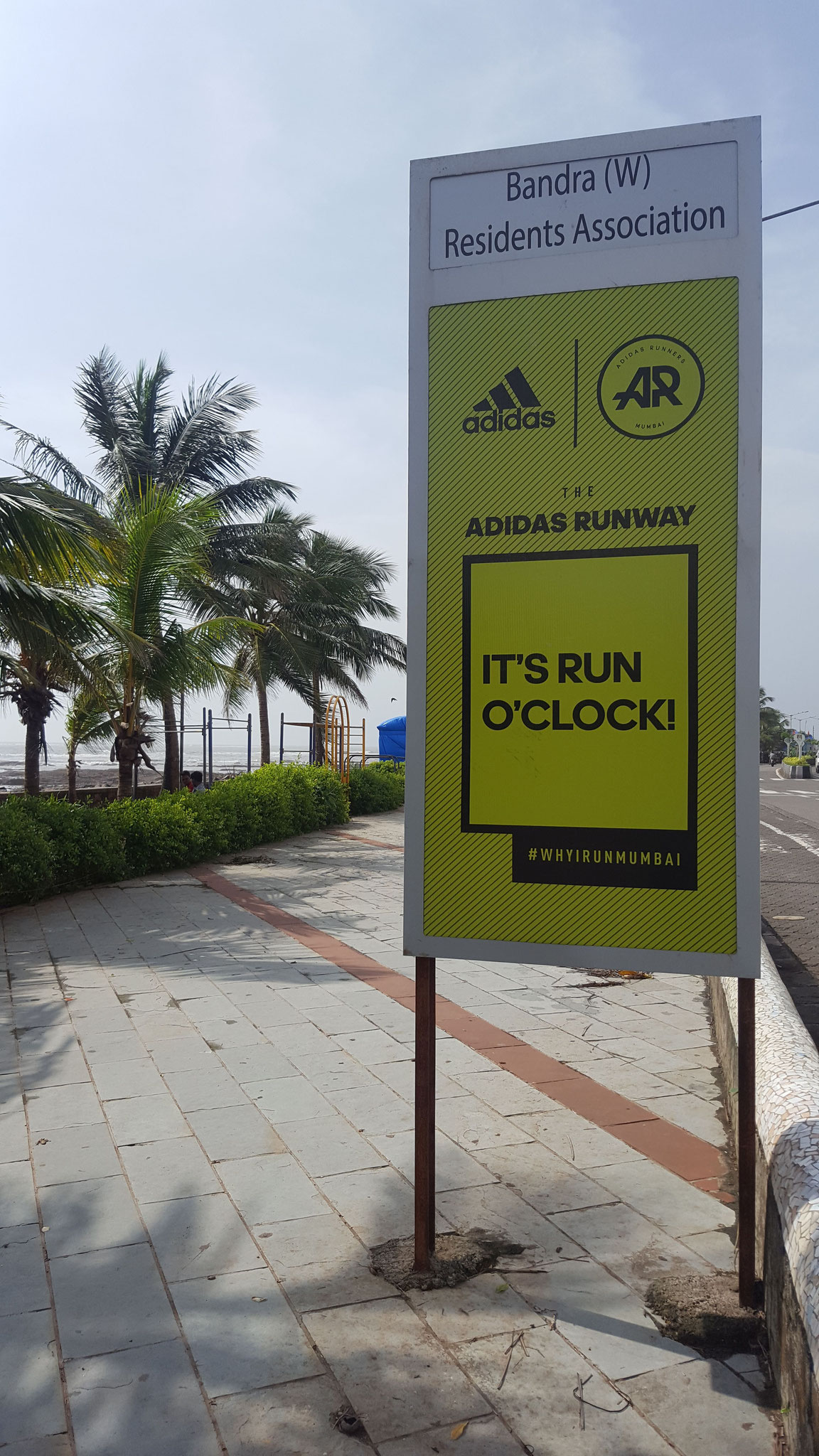 Running for free in Mumbai brought to you by Adidas