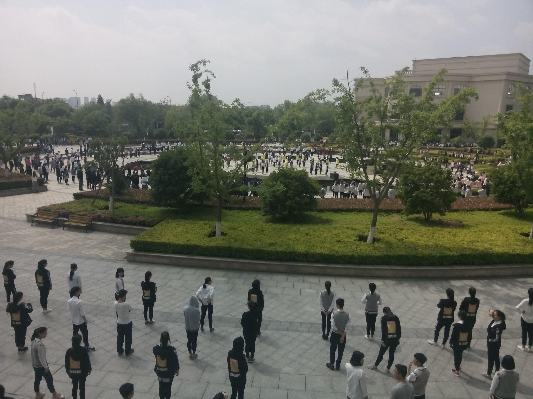 NBFAS Schüler tanzen in Formation 2