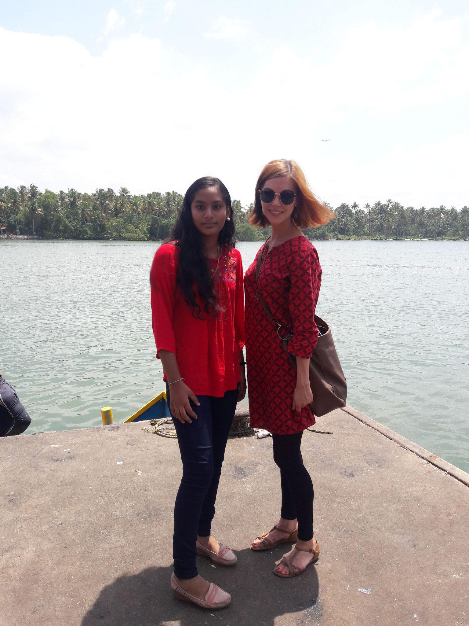 Alina  (Lisias Tochter) und ich
