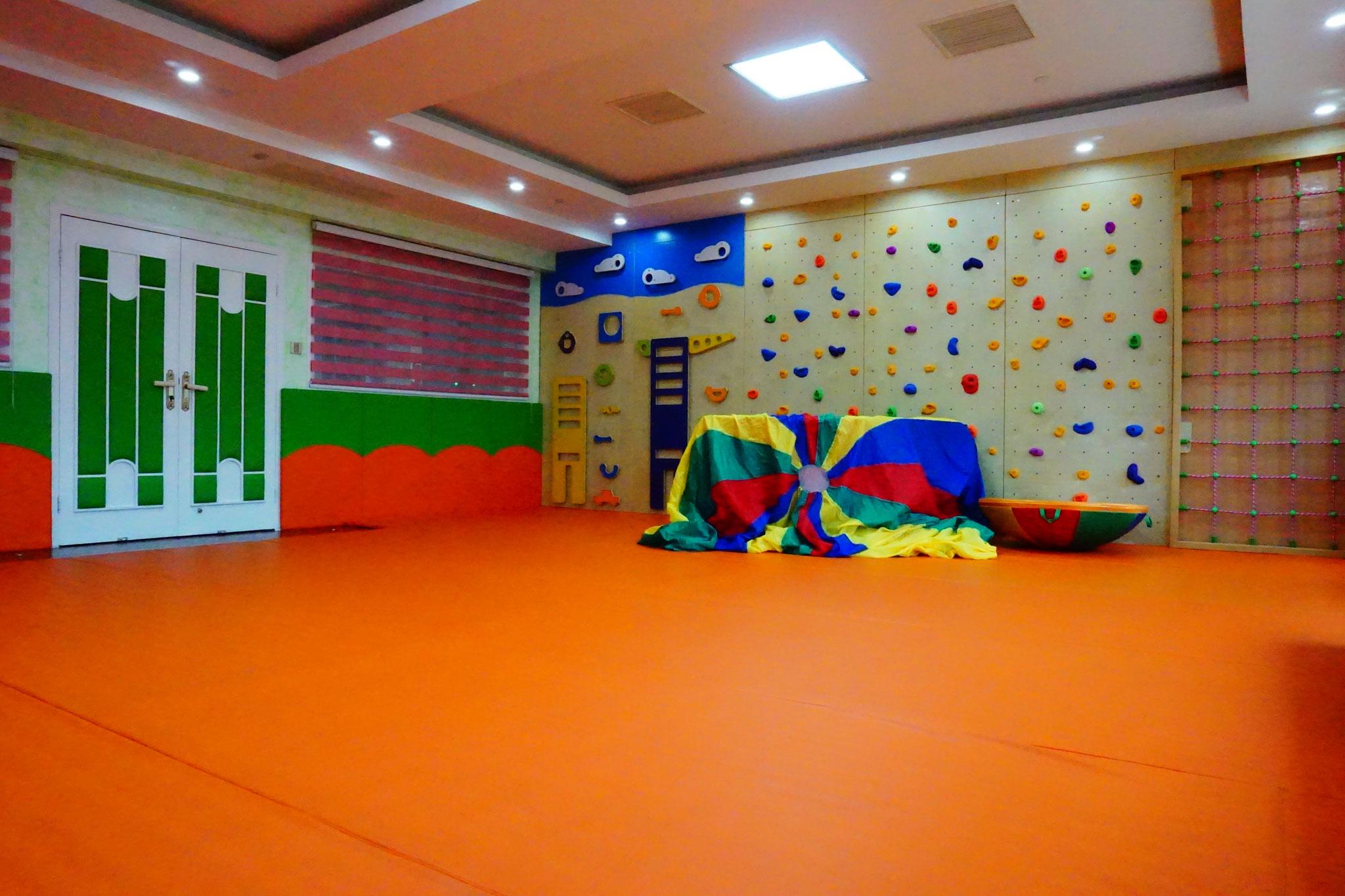 Der Sportraum im Kindergarten