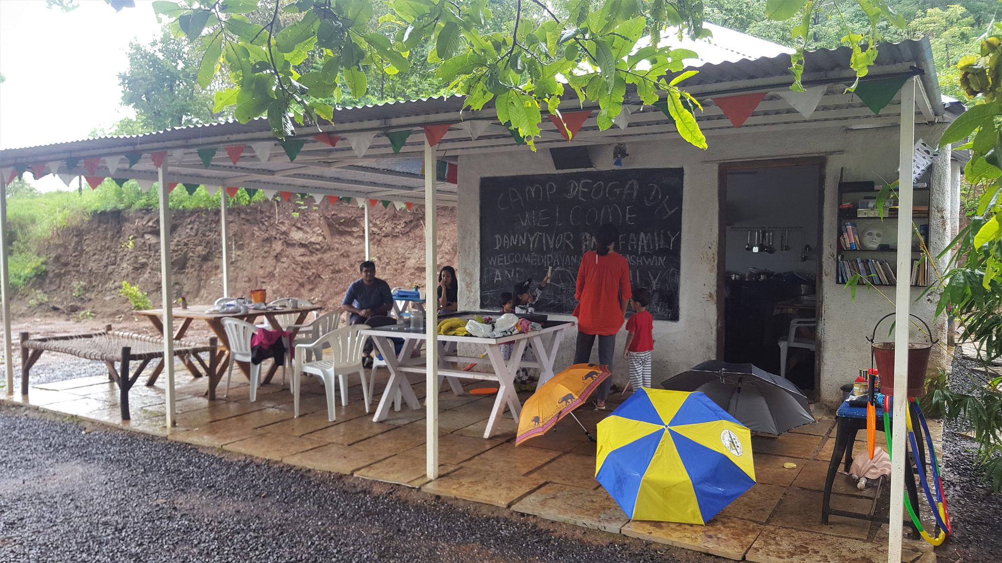 Campingplatz Deluxe: Restaurant
