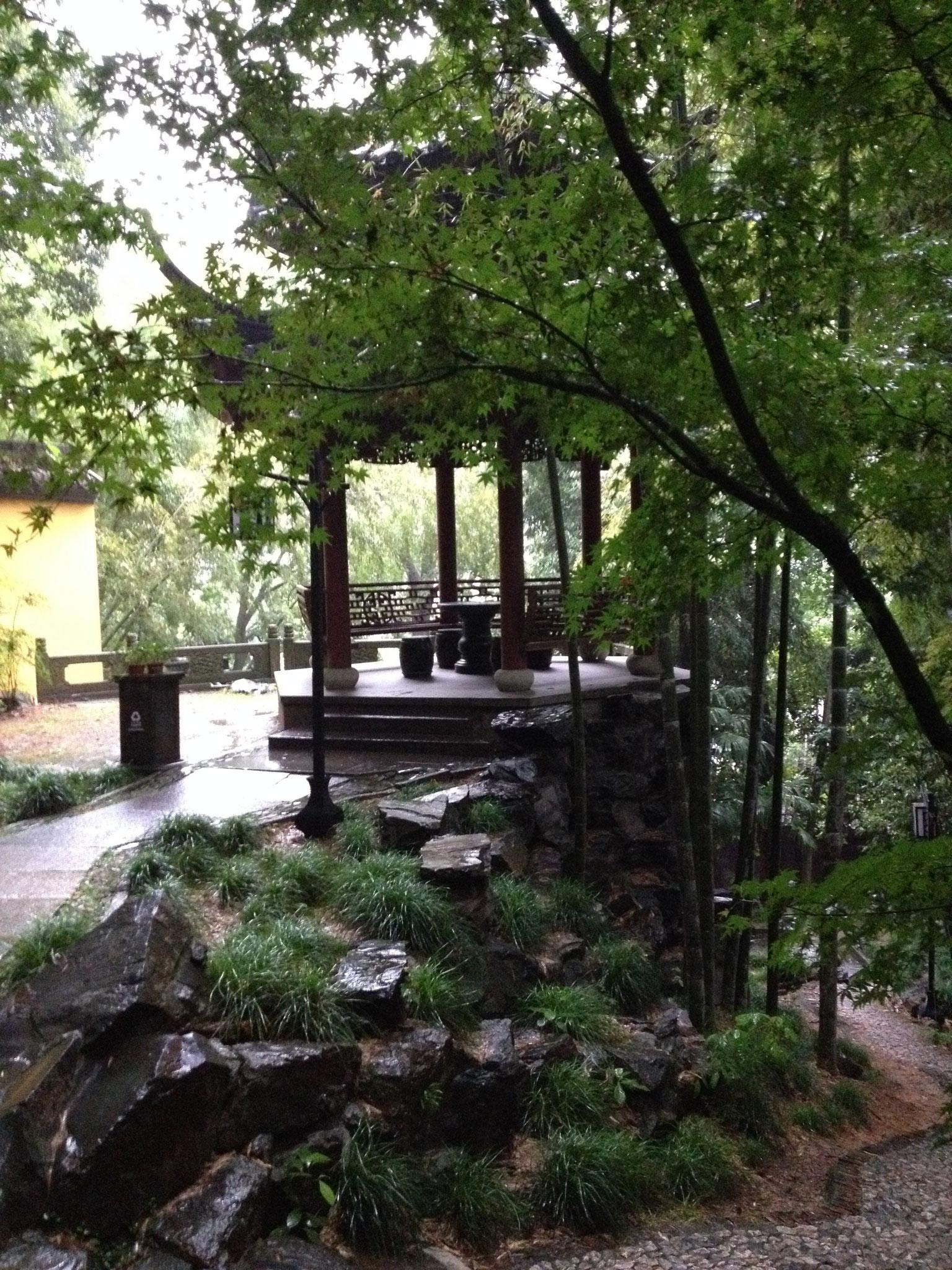 Gartenanlage der Mönche