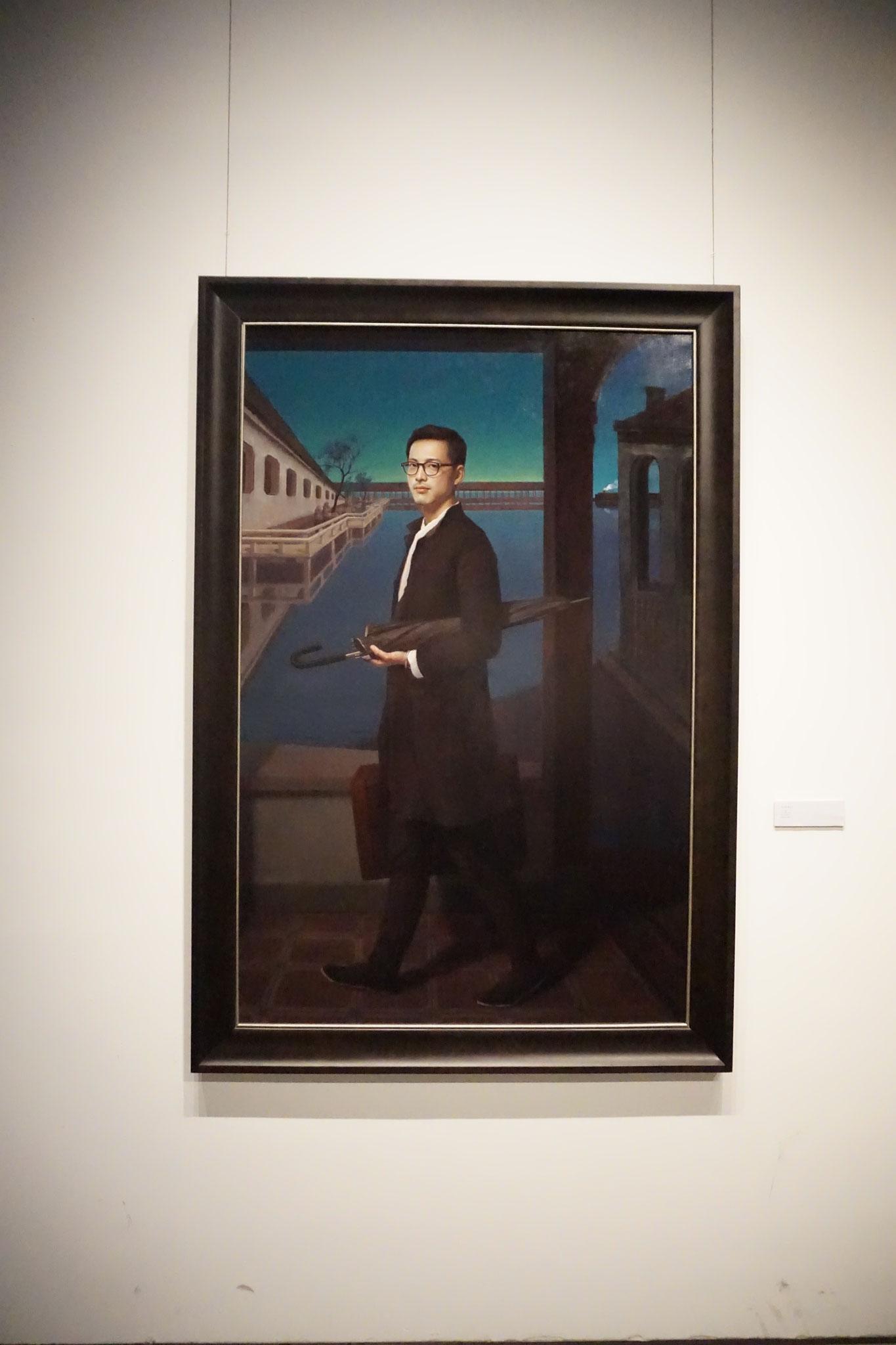 Malerei aus einer Ausstellung in Ningbo