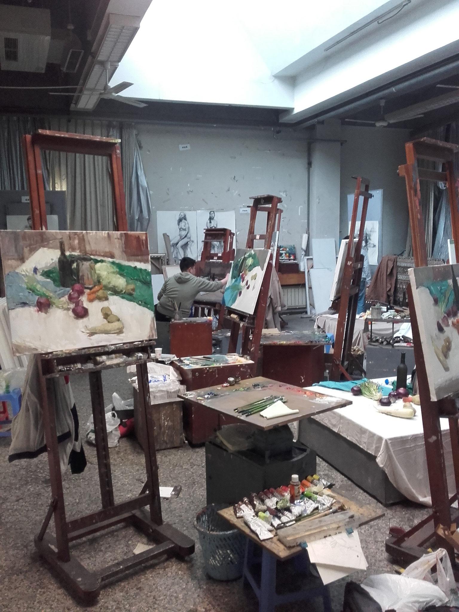 In der Kunsthochschule 1