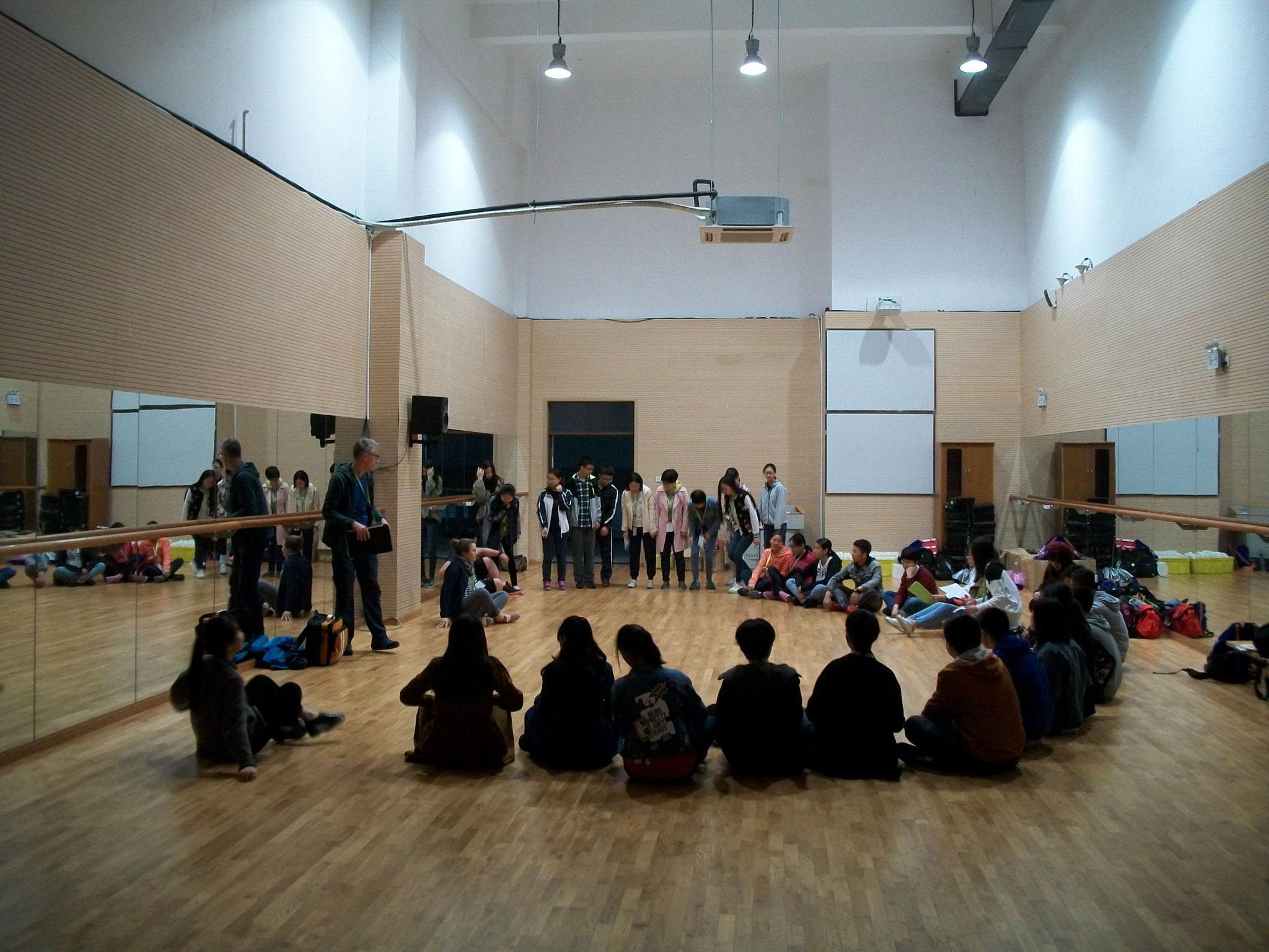 Beim Workshop