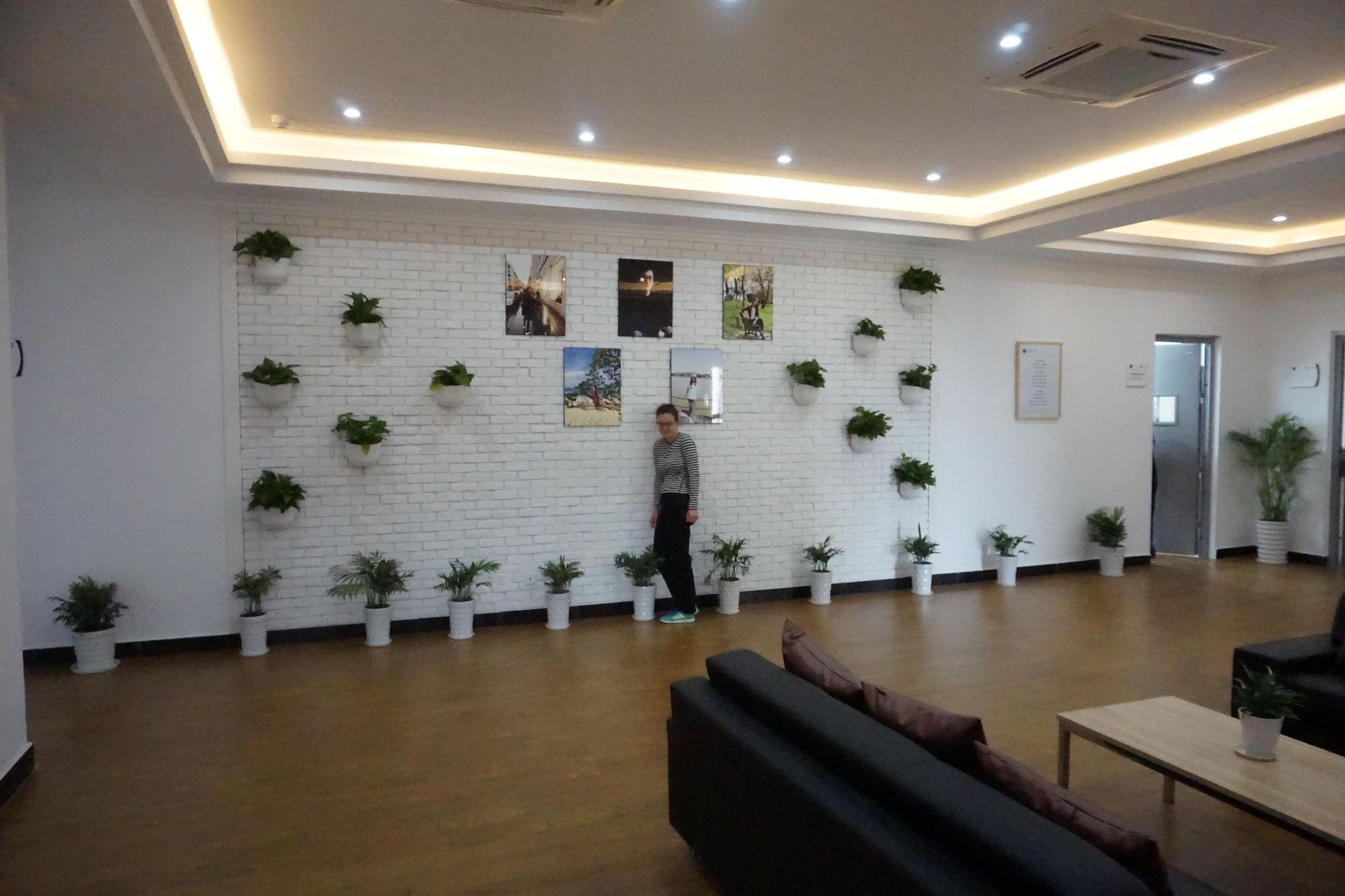 NITI Lounge vor dem Lehrerzimmer