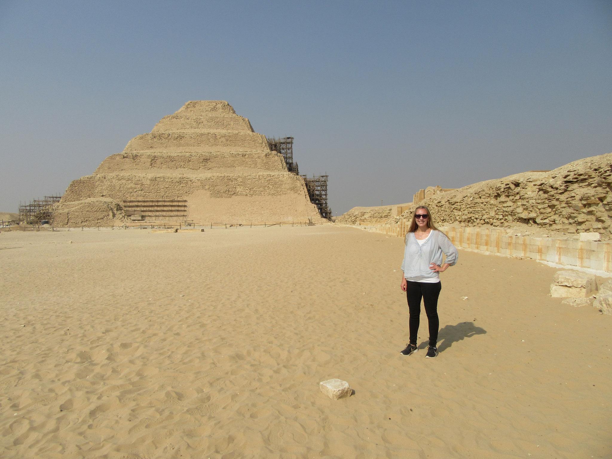 Die Stufenpyramide von Sakkara
