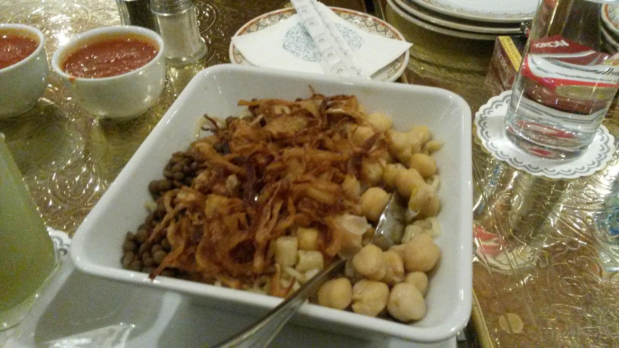 Kuschari, typisches ägyptisches Essen