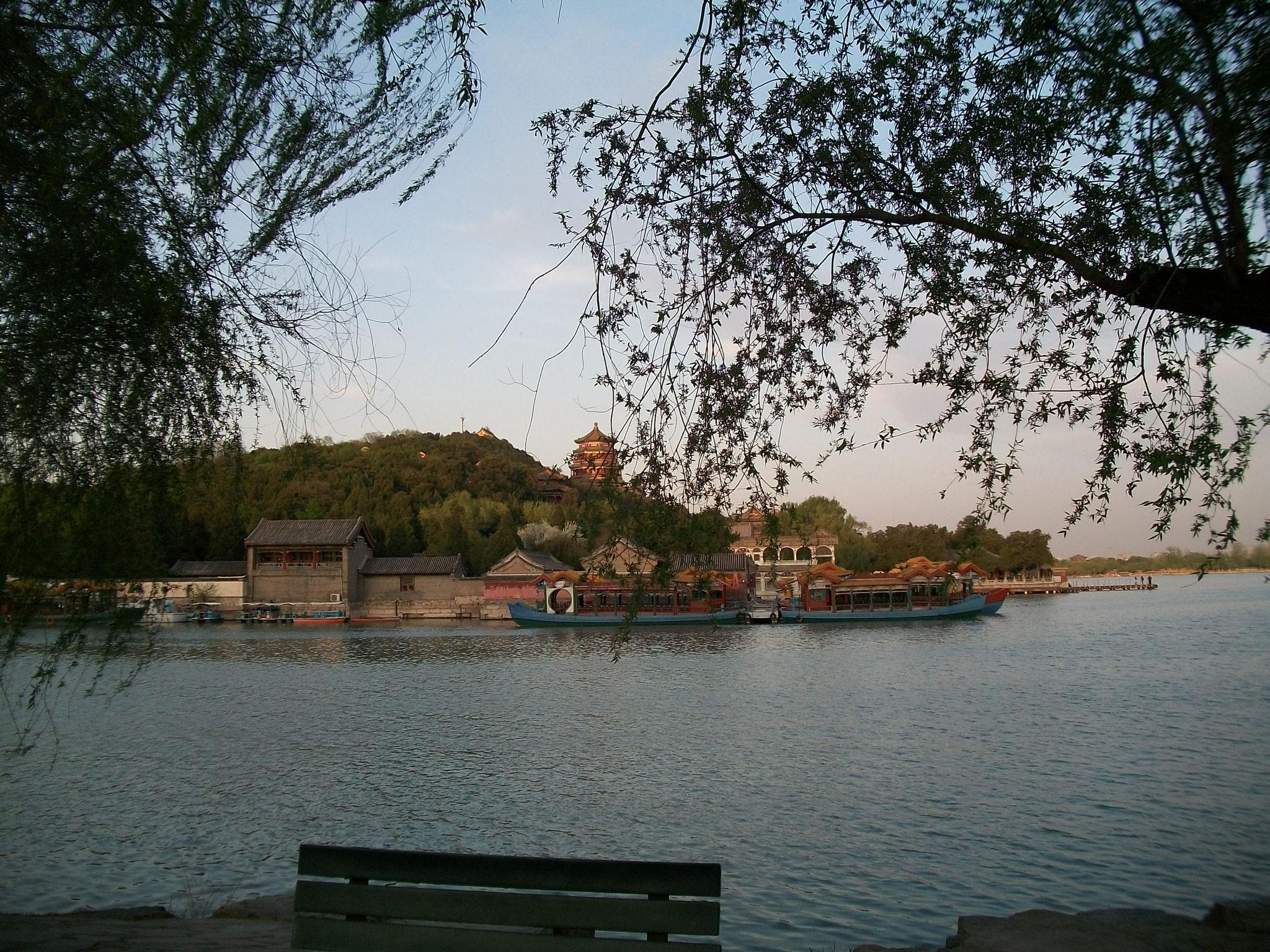 Im herrlichen Park des Summer Palace