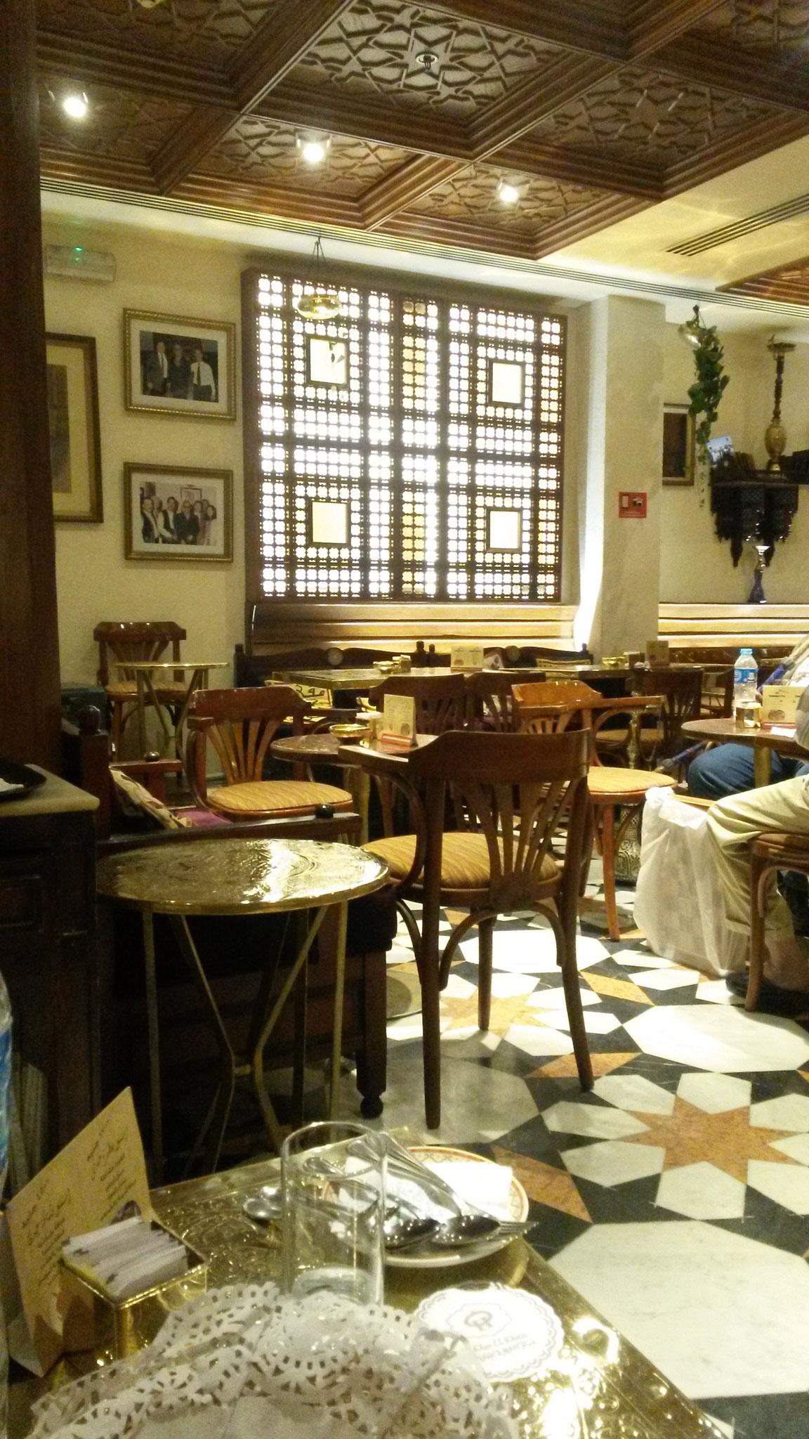Orientalisches Kaffeehaus im Herzen Kairos