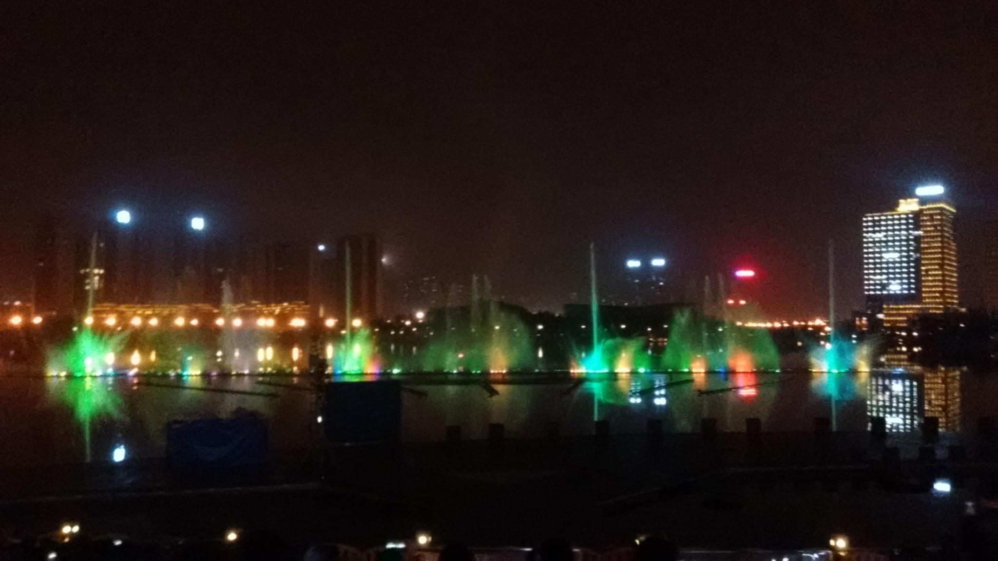Wassershow in Zhuzhou