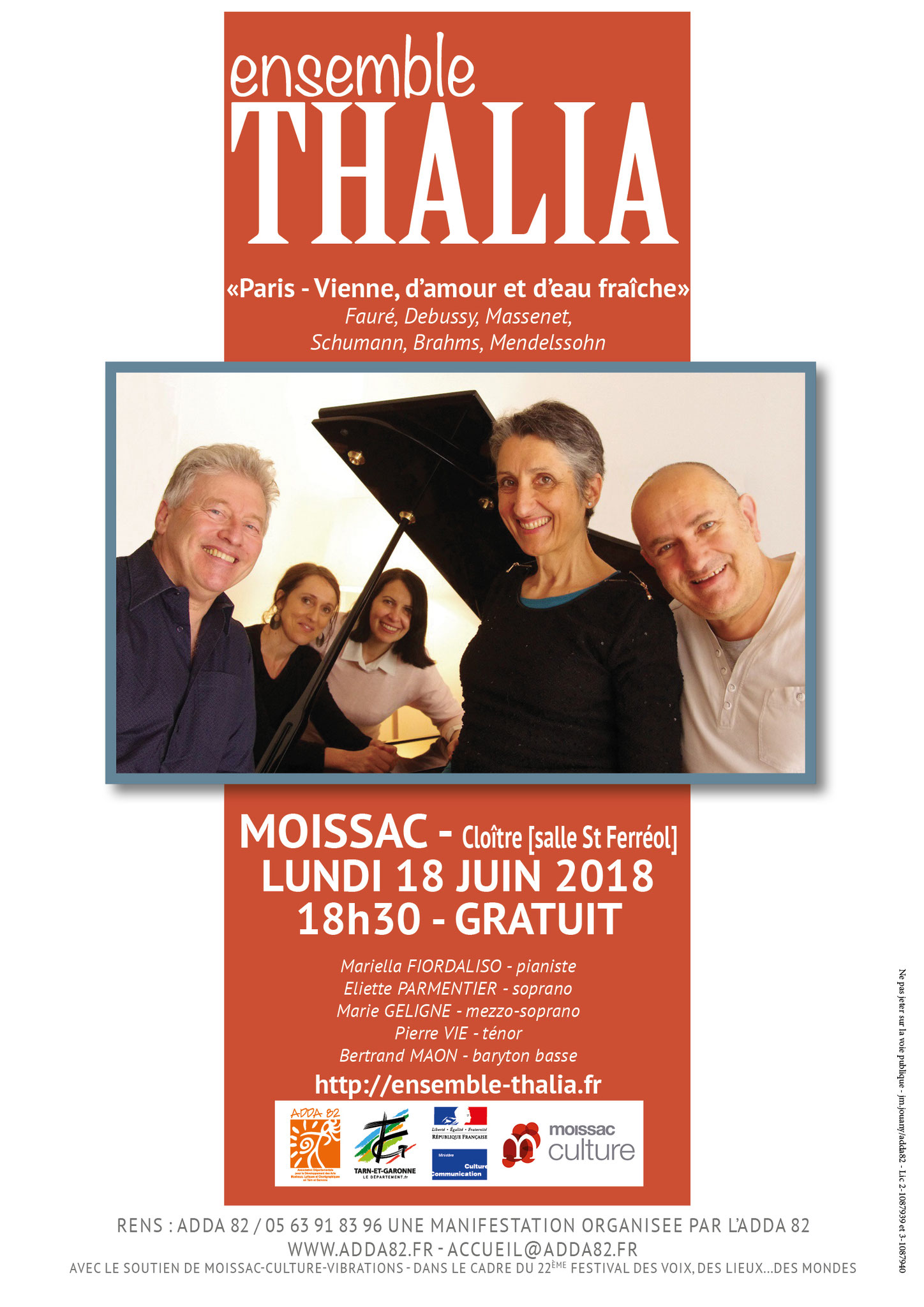 L'Ensemble Thalia à Moissac