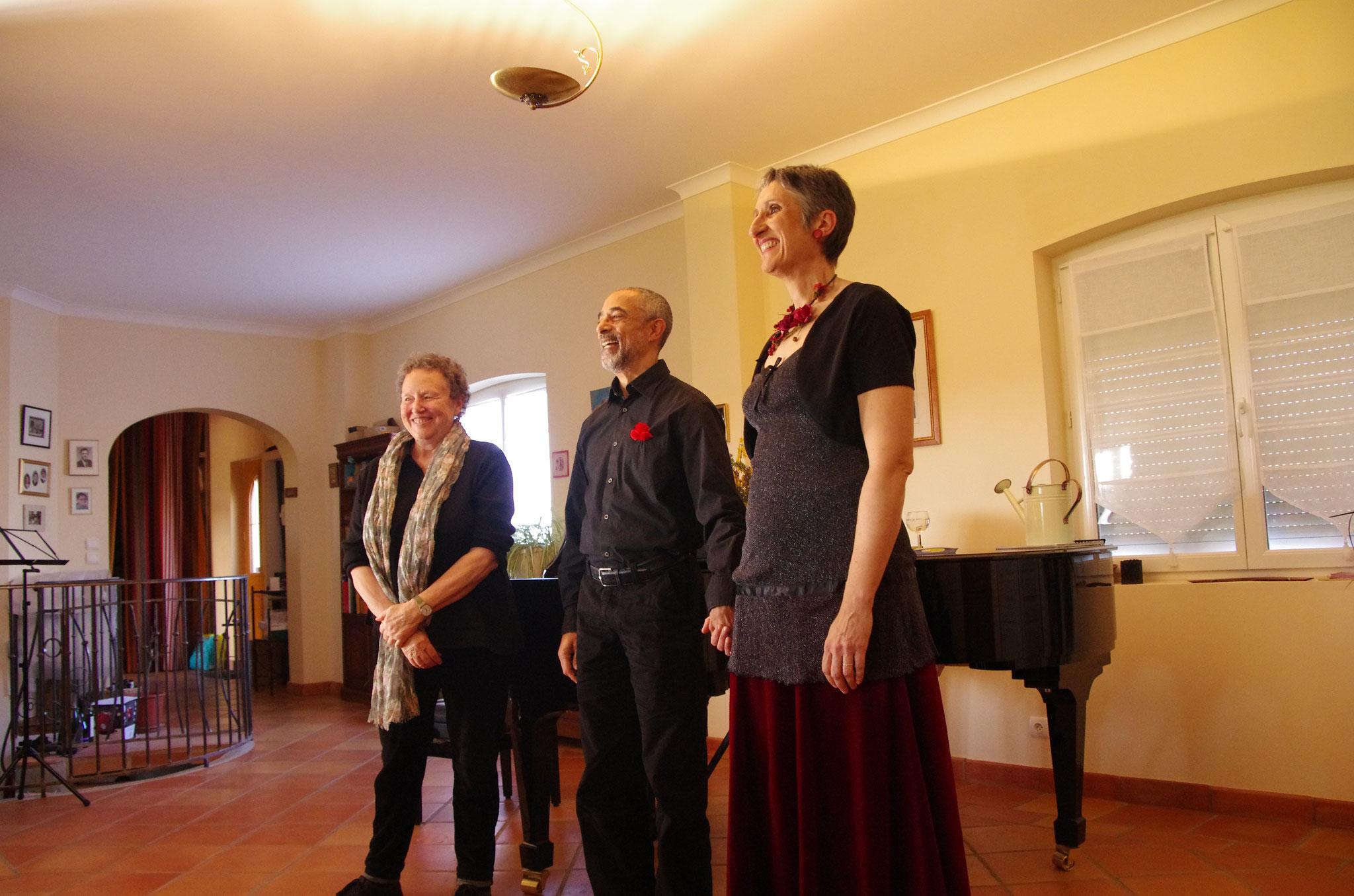 """""""Tout bêtement"""" les mélodies de Jacqueline Chautemps (sur la photo à gauche) accompagnée par Marc Seignoret"""