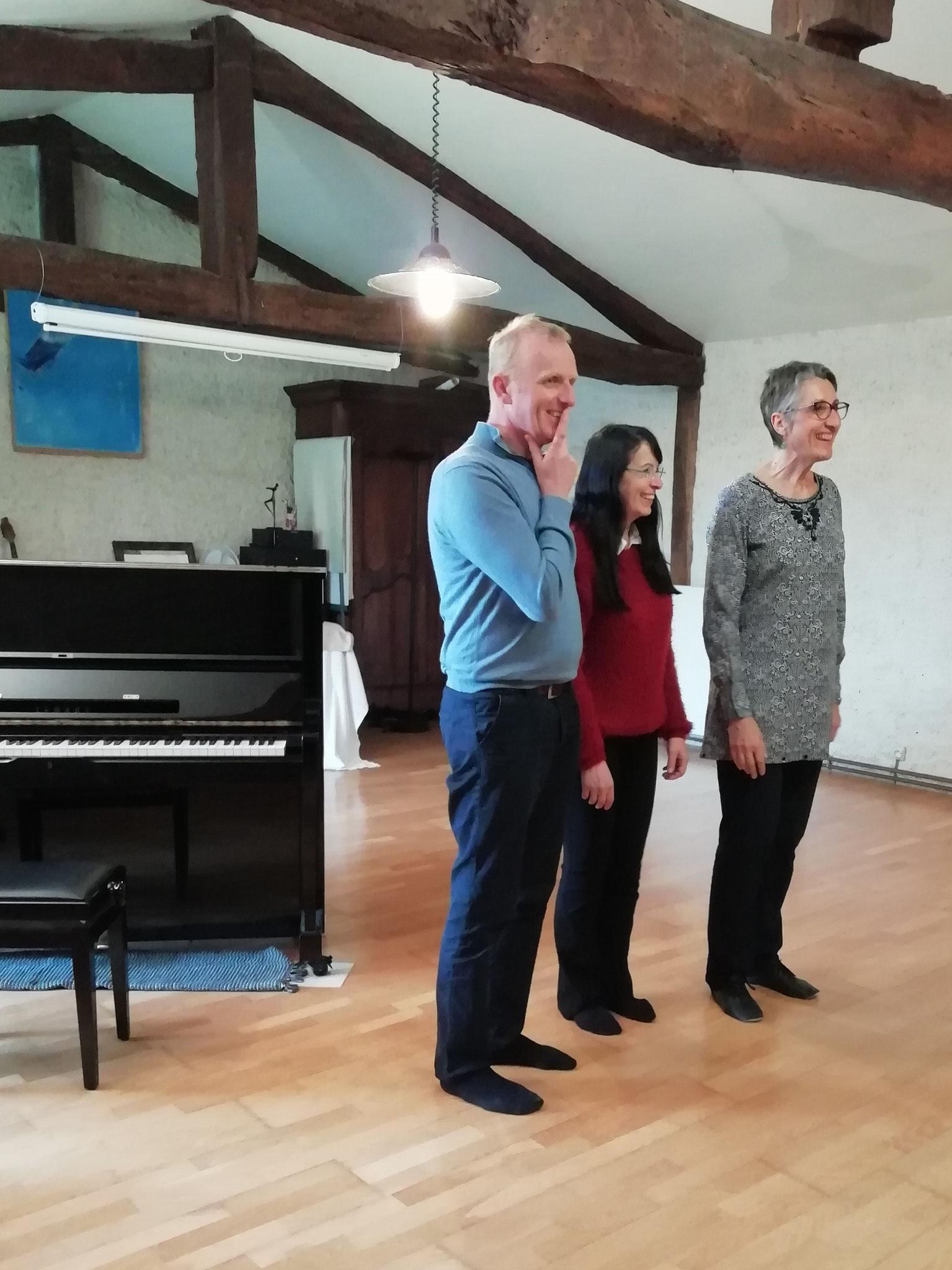 Master Class au Moulinal avec Ulrich Funke et Mariella Fiordaliso