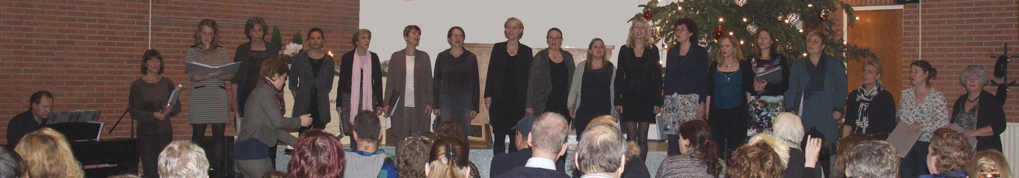 Kerstconcert cliënten Voedselbank, dec. 2015