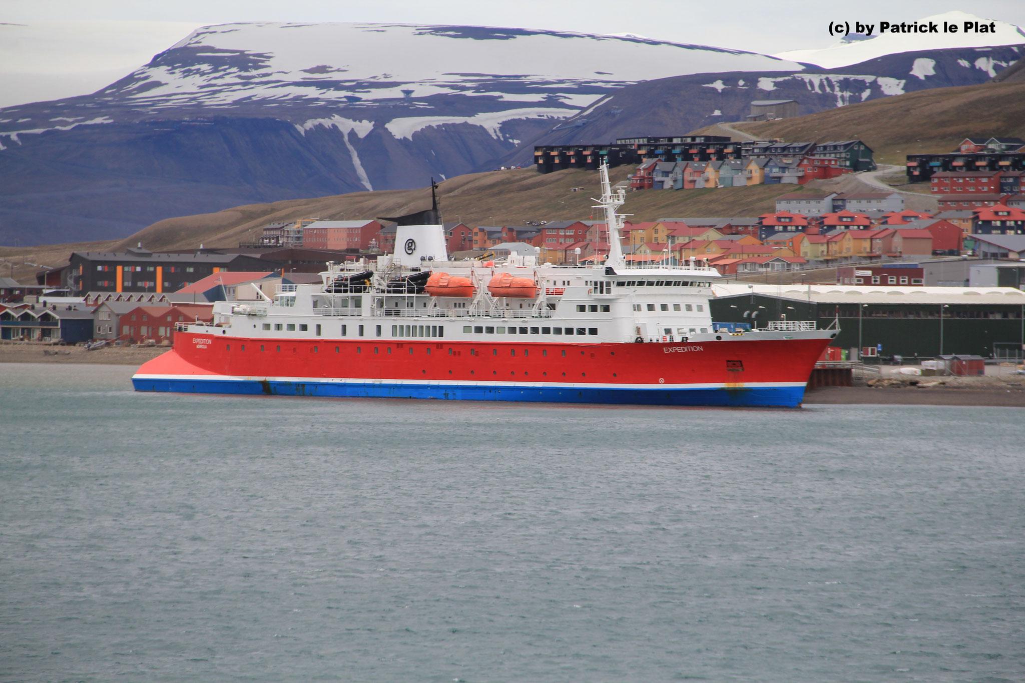 07. Juli 2016 in Longyearbyen (Spitsbergen)