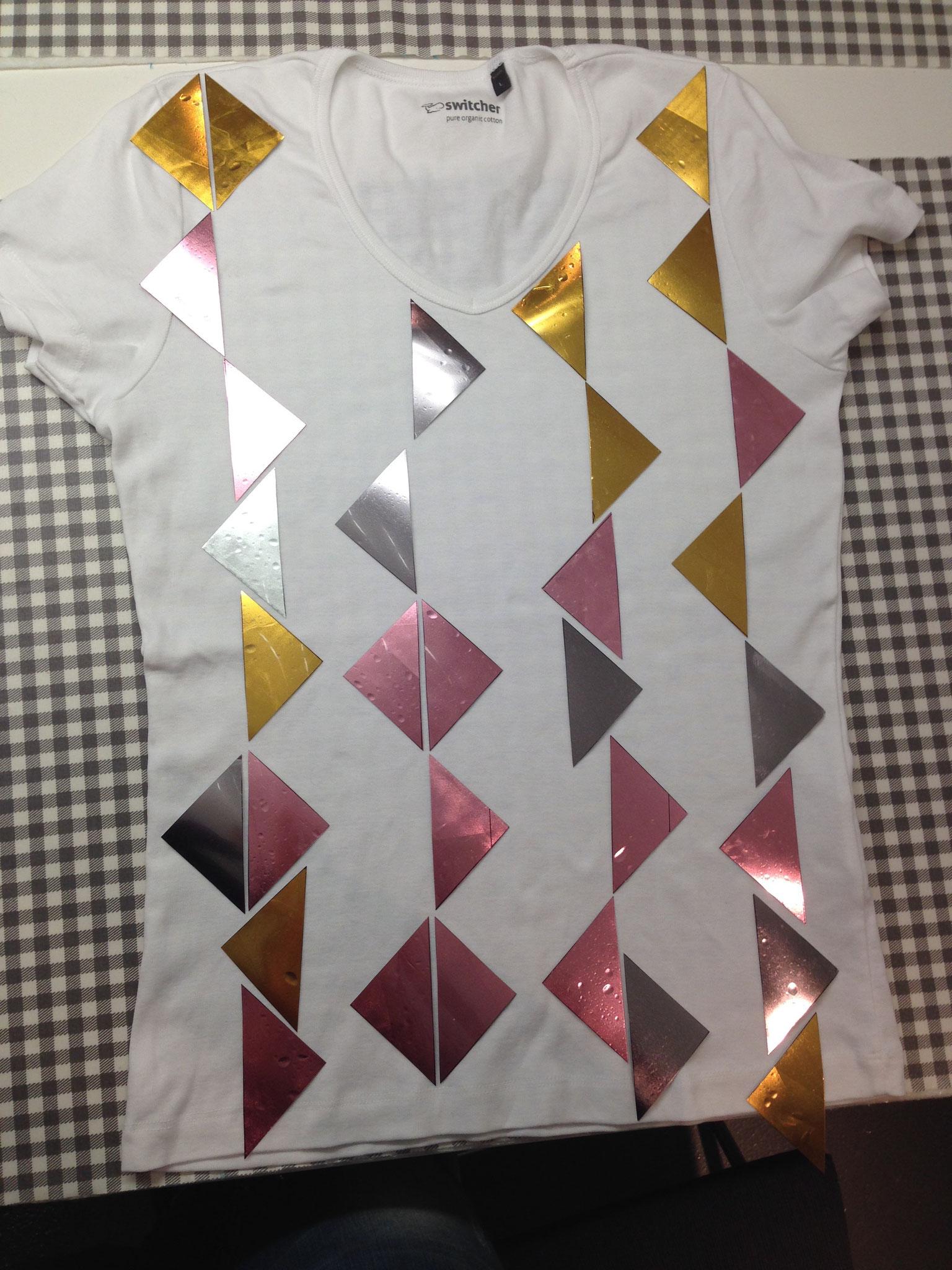 bedrucktes/geklebtes Kinder-Shirt