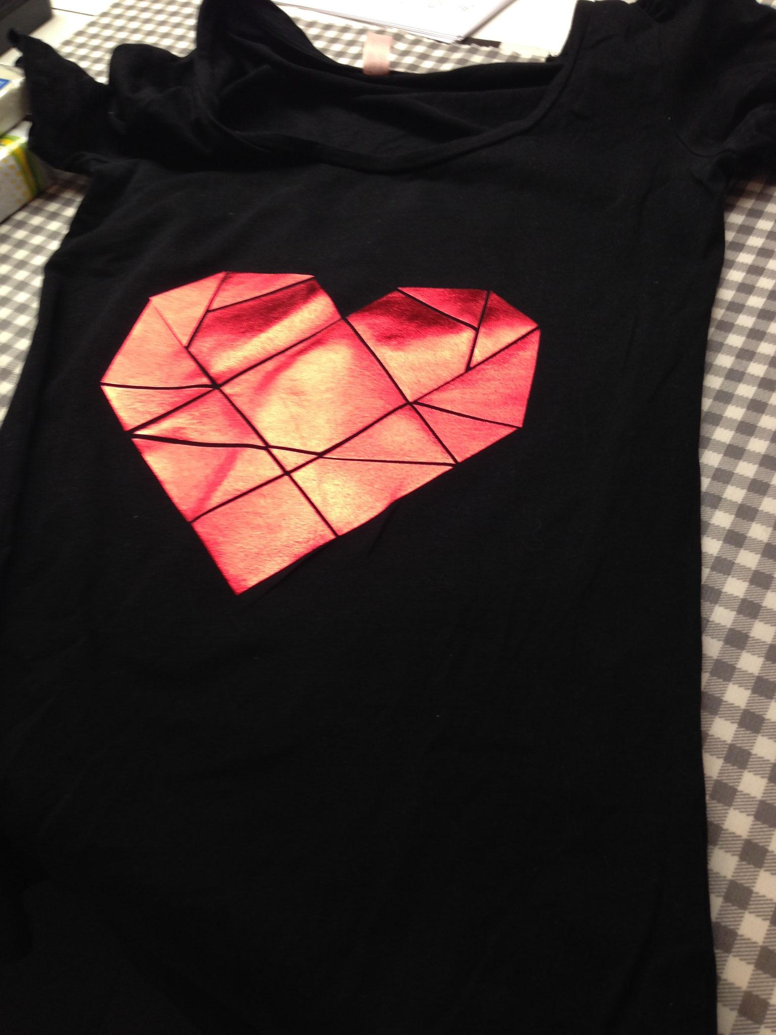bedrucktes/geklebtes Shirt
