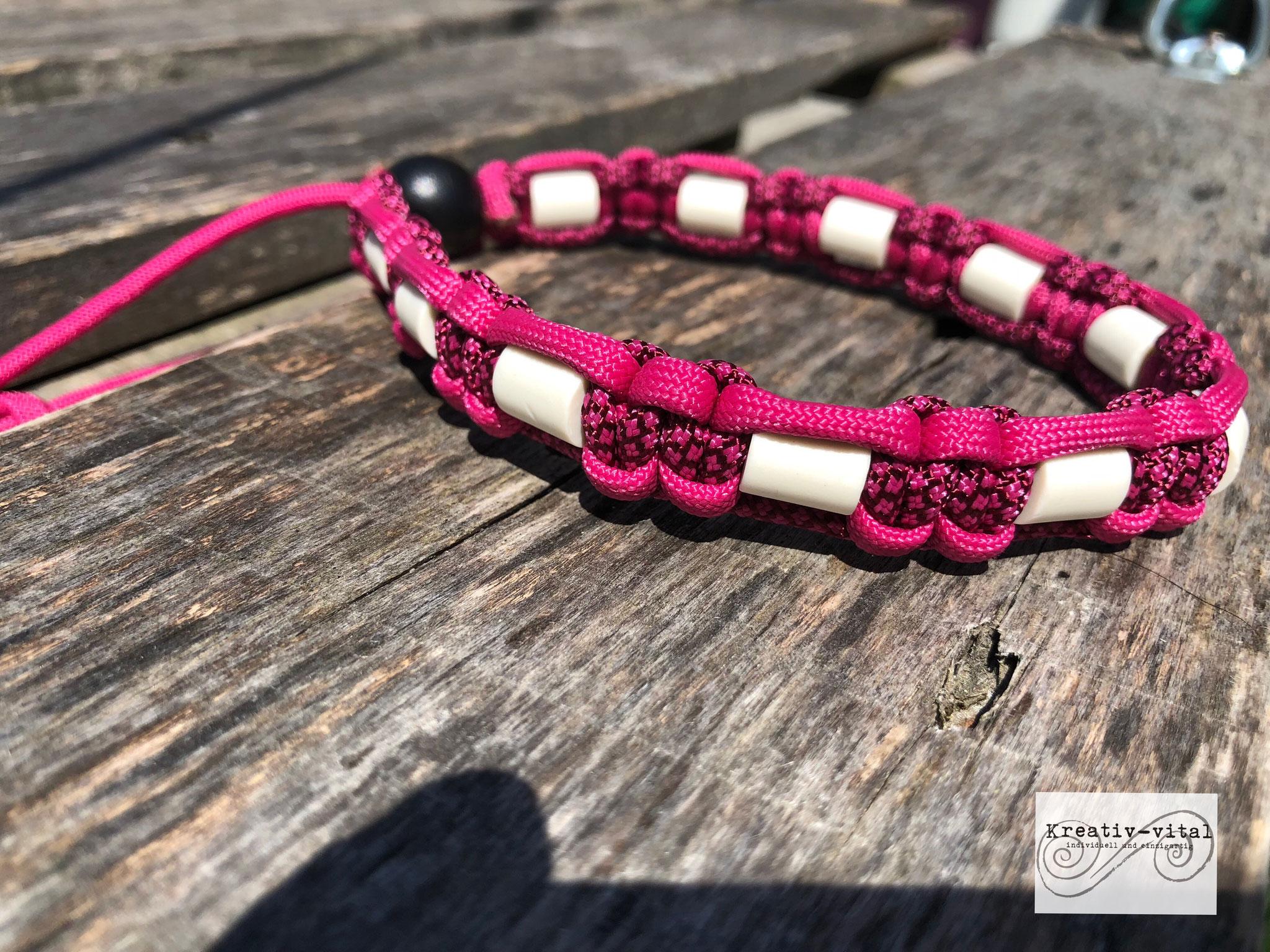 EM Keramik Halsband für Hund/Katze 32-35cm Halsumfang