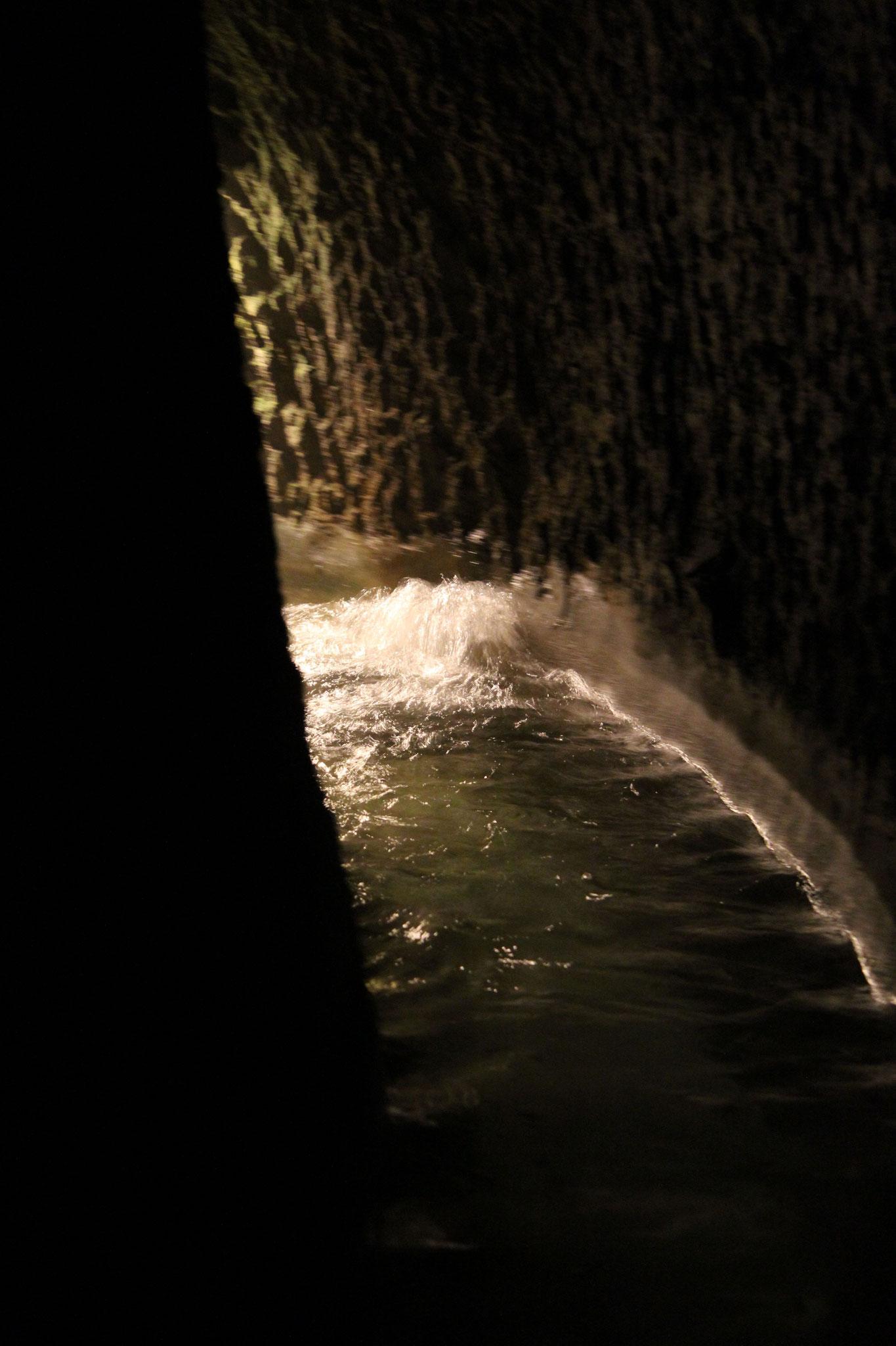 In einigen der alten Wasserläufe fließt es heute immer noch.