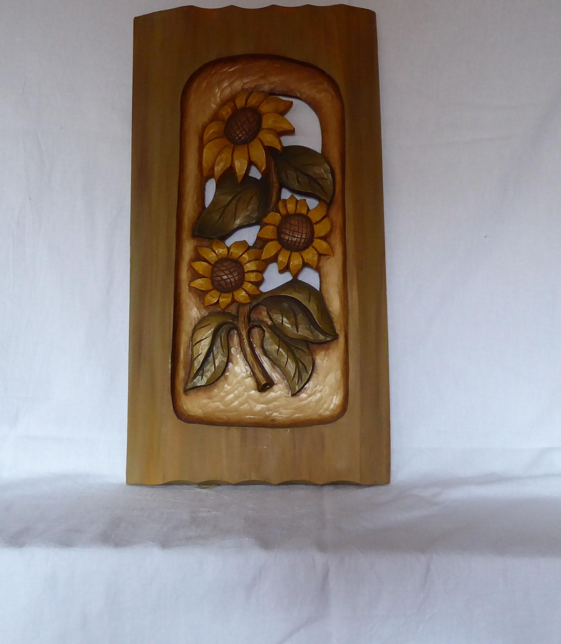 Sonnenblumen Relief