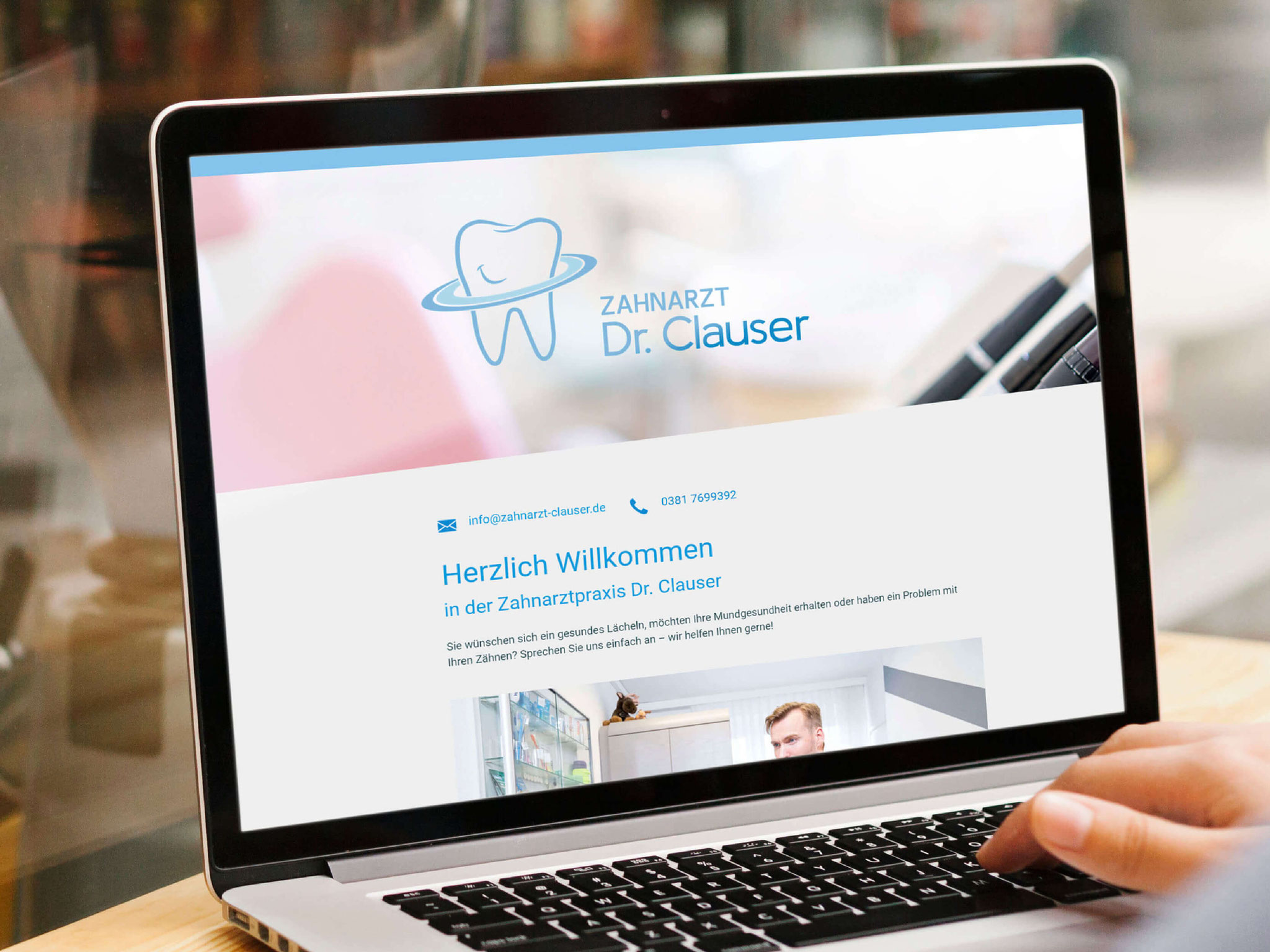 Zahnarzt Dr. Clauser - Webseite & SEO