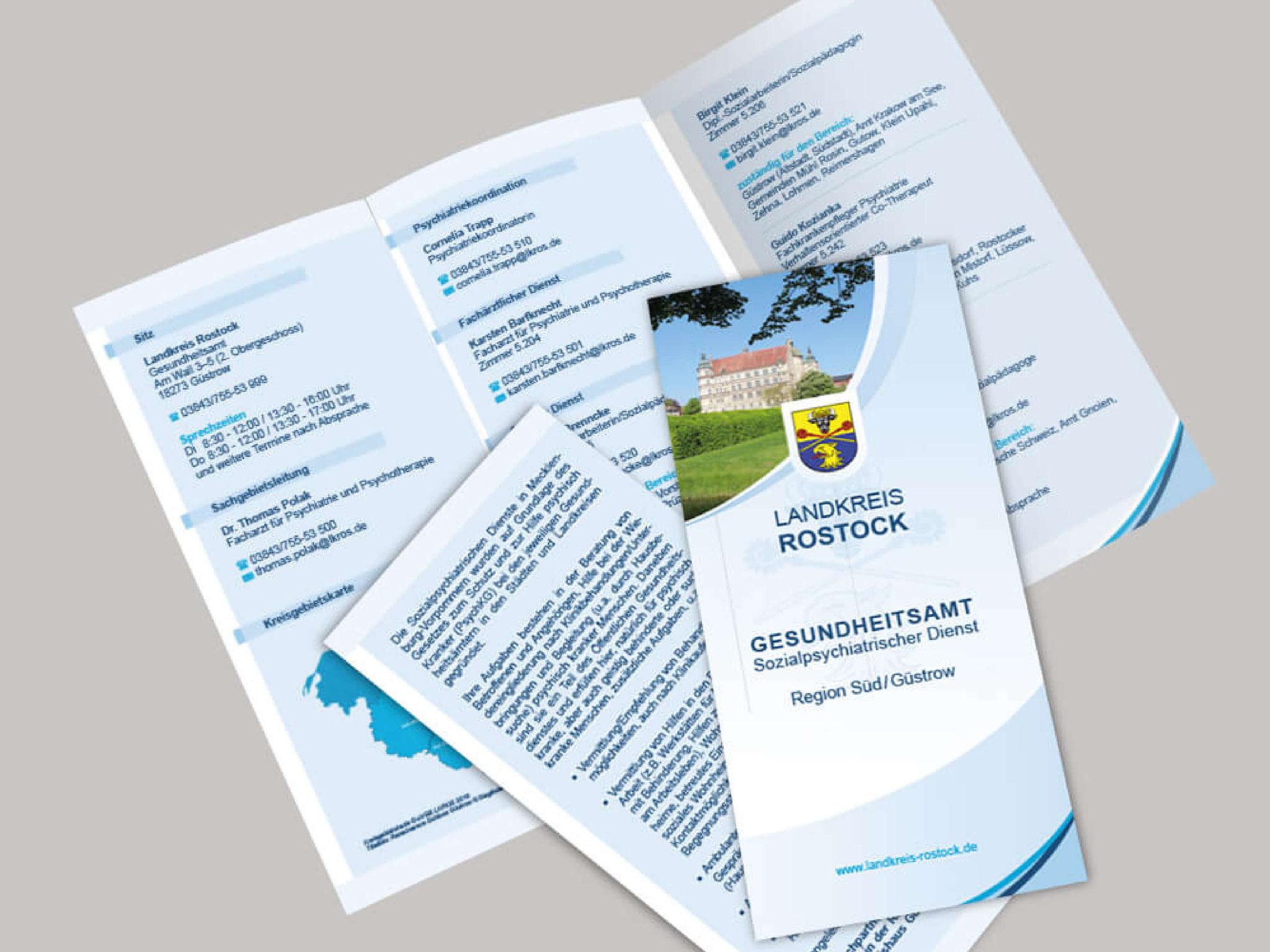 Landkreis Rostock - Flyer