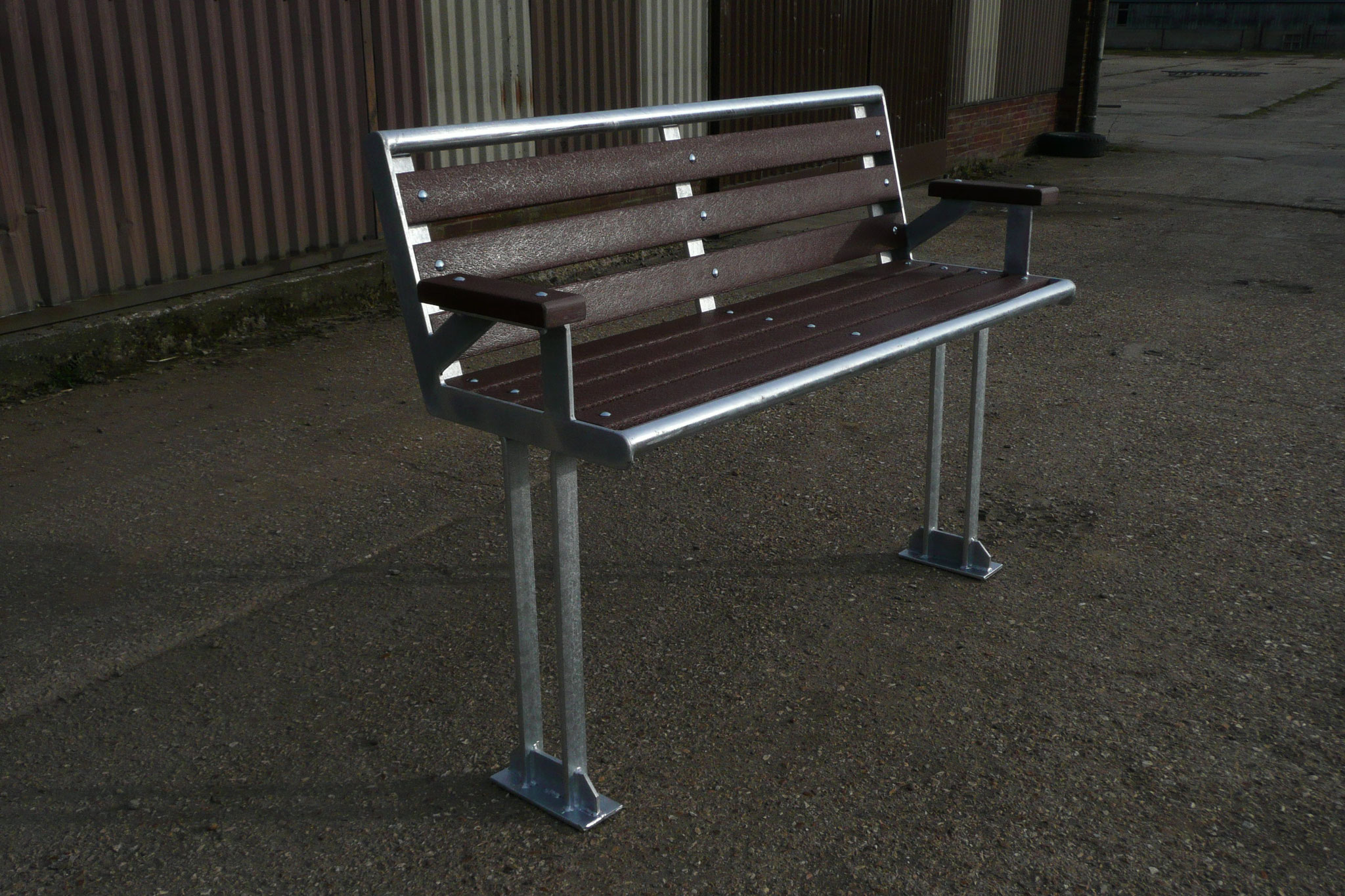 Architectural Park Bench