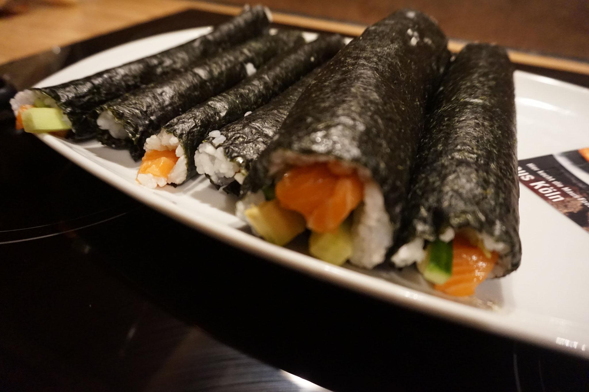 Sushi-Reis selber machen l Sushi selber machen l California Rolls einfach gemacht