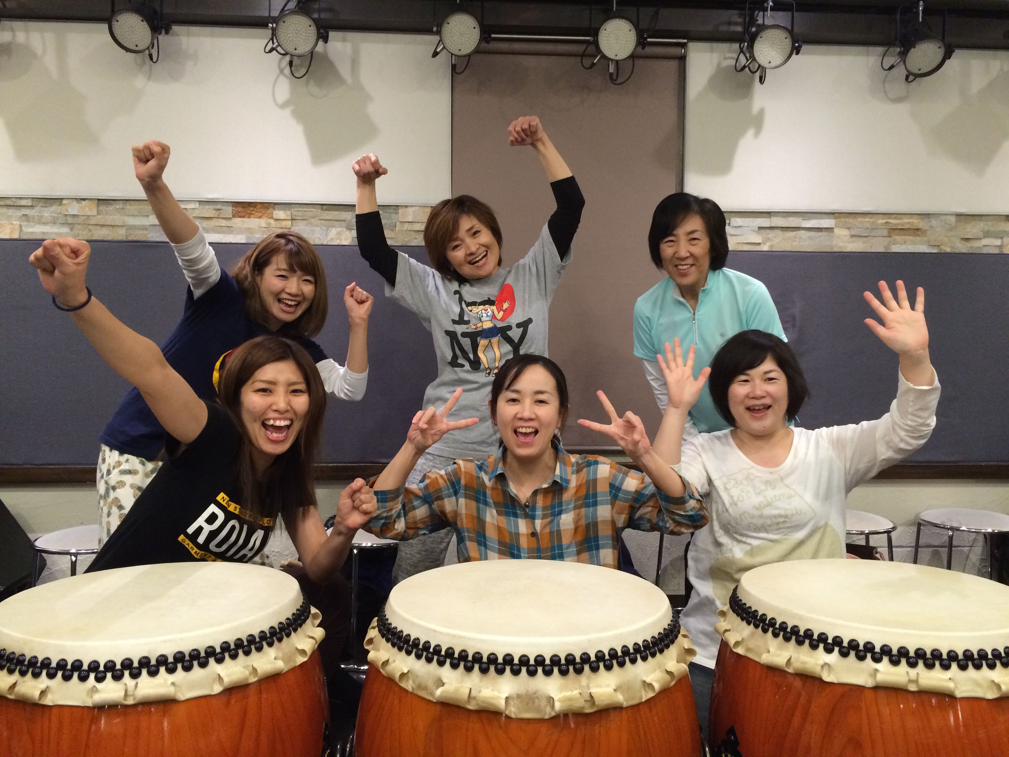教室 和 太鼓
