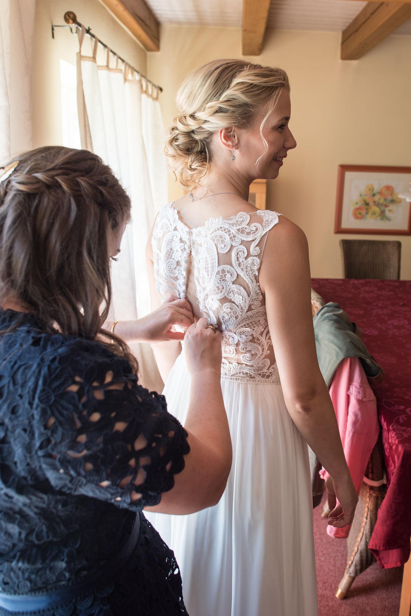 Brautvorbereitungen