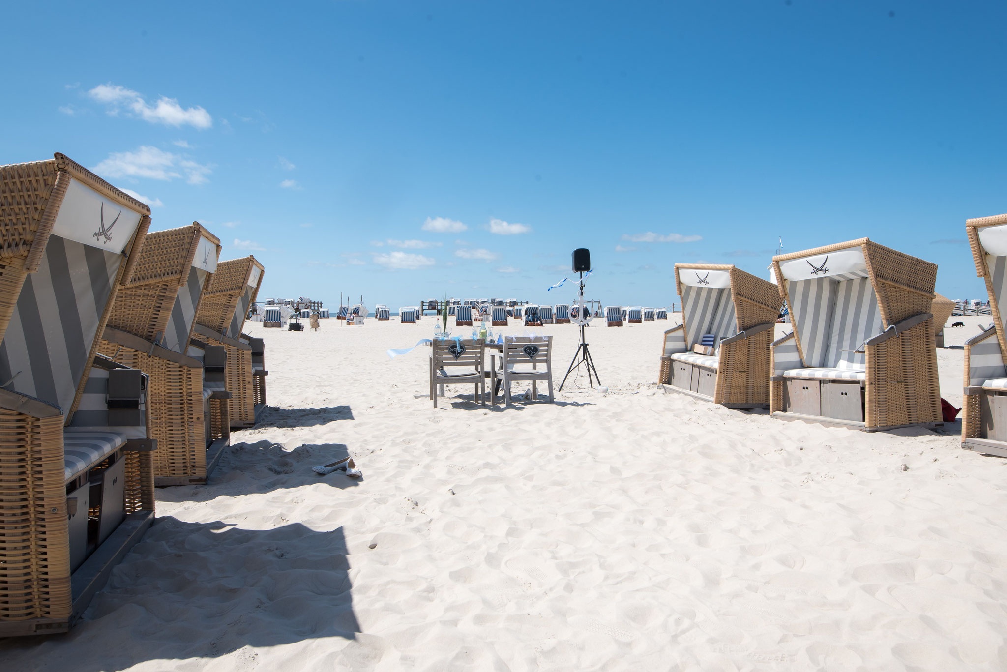 Freie Trauung am Strand von Sankt Peter Ording