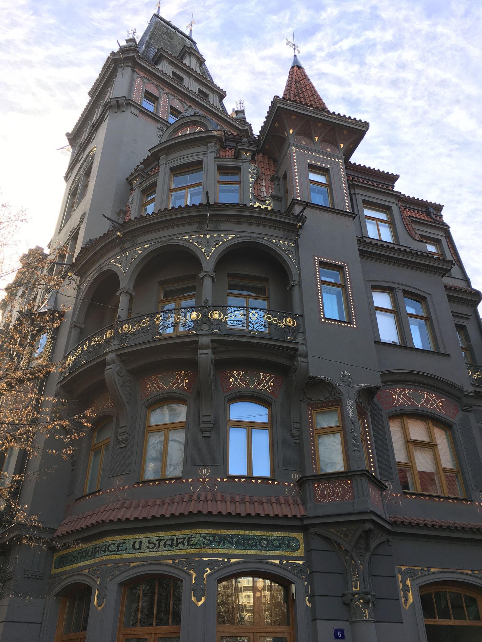 wunderschönes Jugendstilhaus