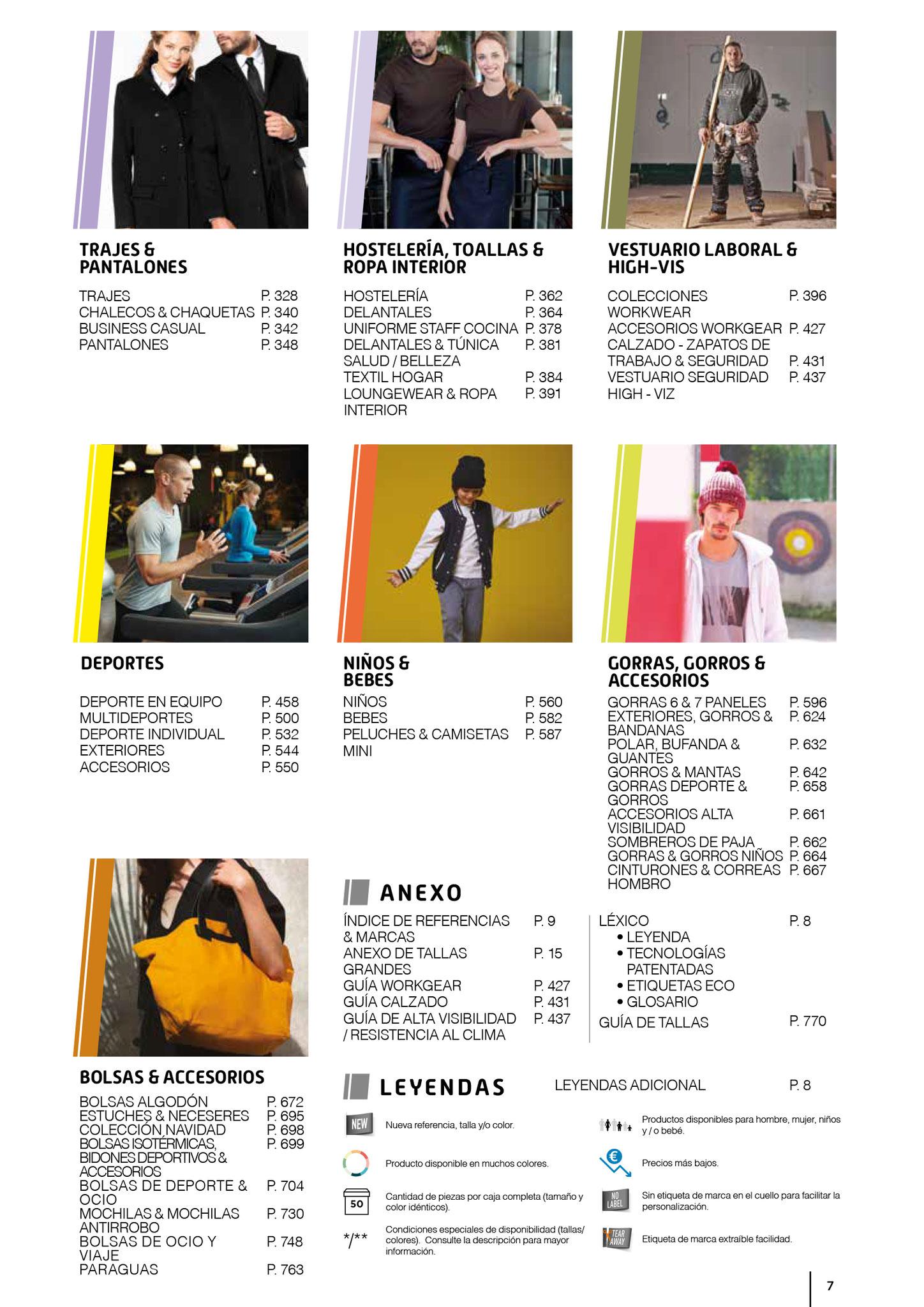 Index textil 2020 , publicidad textil masqueregalos, Marcas Kariban, Proact, Kup, Ki.mod, Fruit of the Loom, Gilda, Result, Premier,Lee, Timberland,