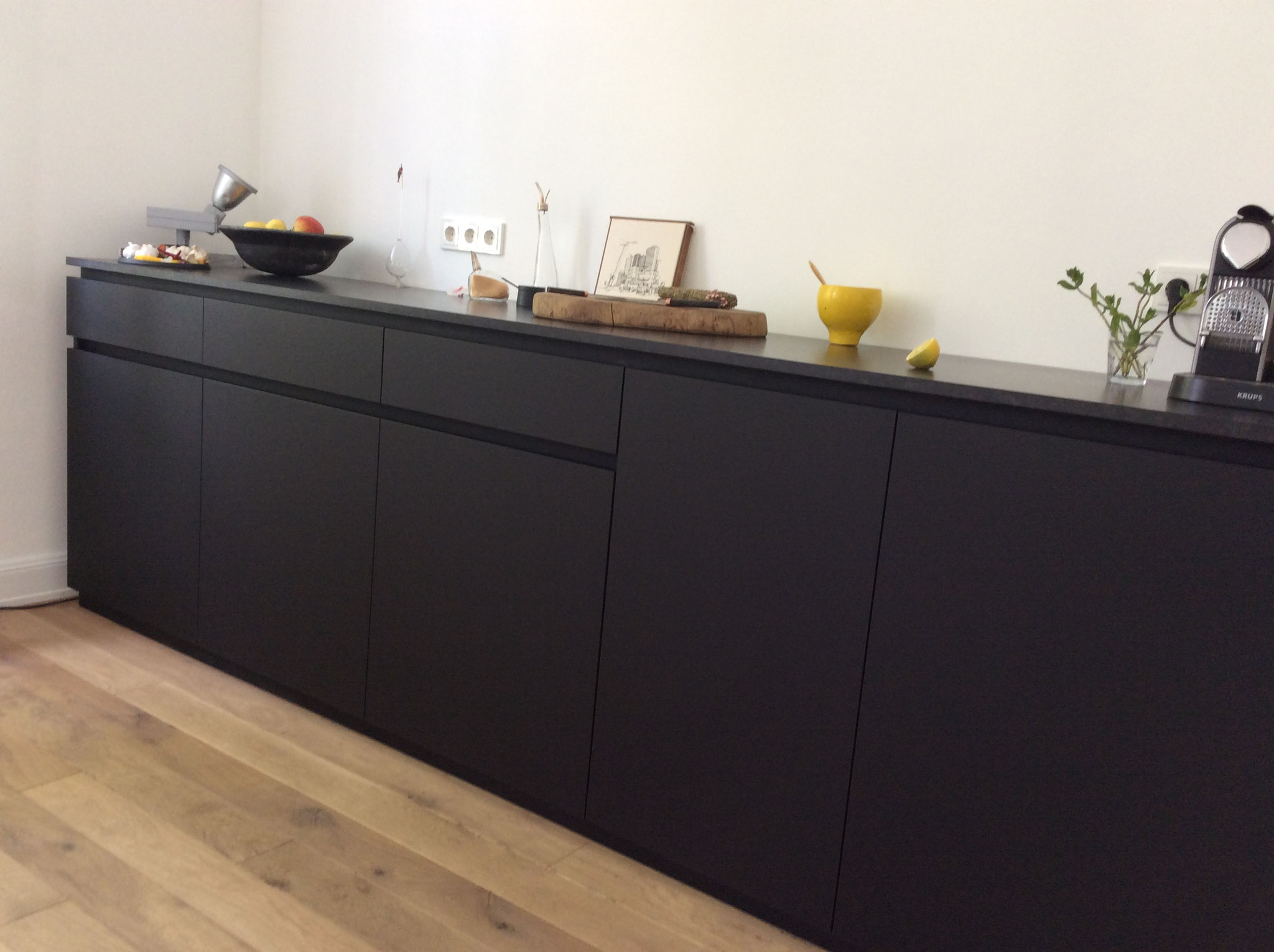 küche schwarz matt - mirko danckwerts möbelgestaltung