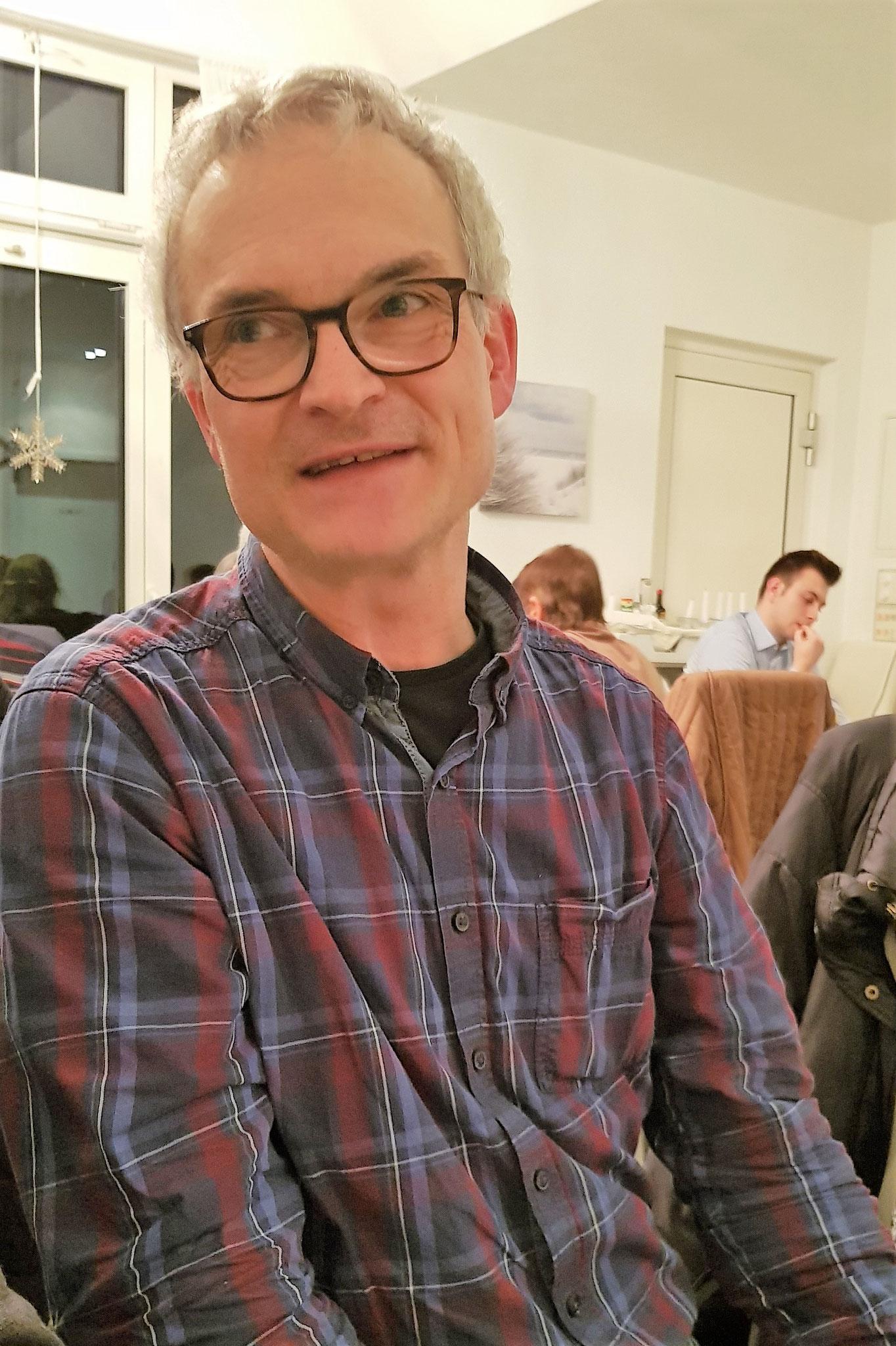 Markus Oehler, neues Mitglied als Querflötist