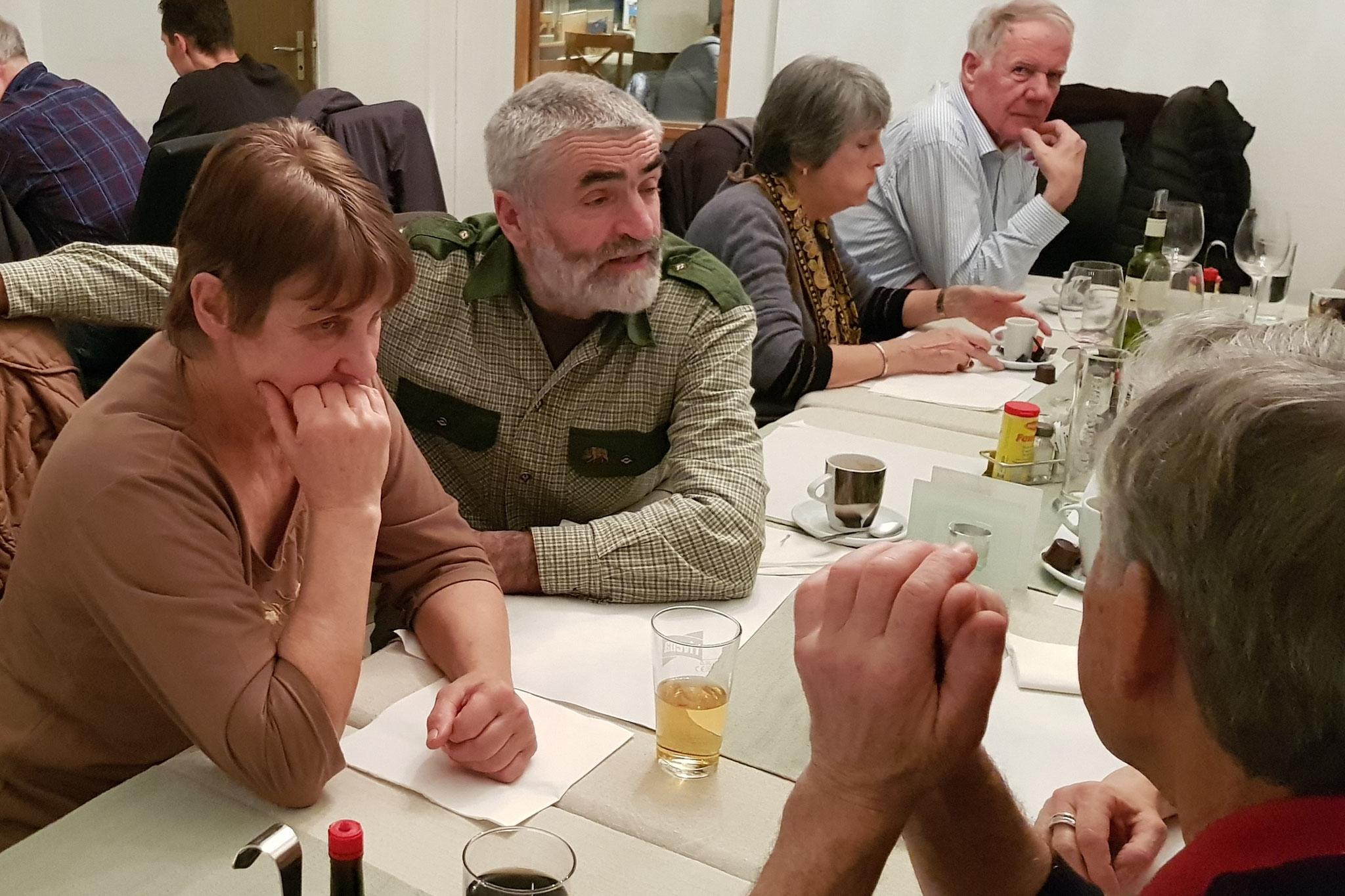 Hanni und Kurt Lüscher unterstützen die MGH